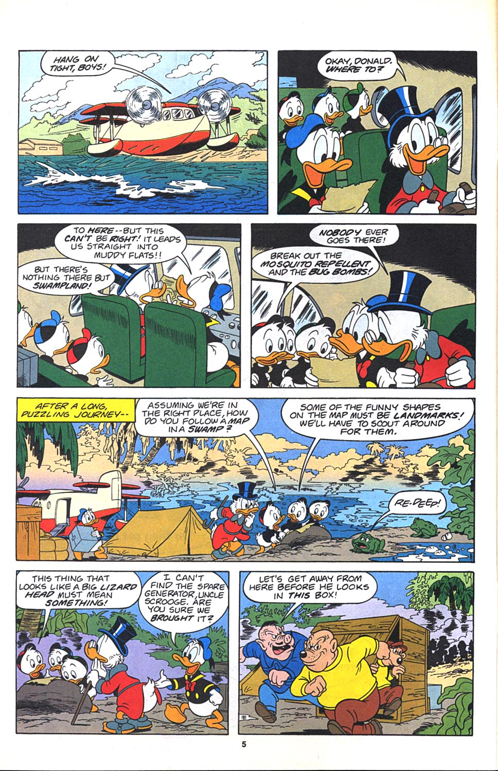 Read online Uncle Scrooge (1953) comic -  Issue #271 - 6