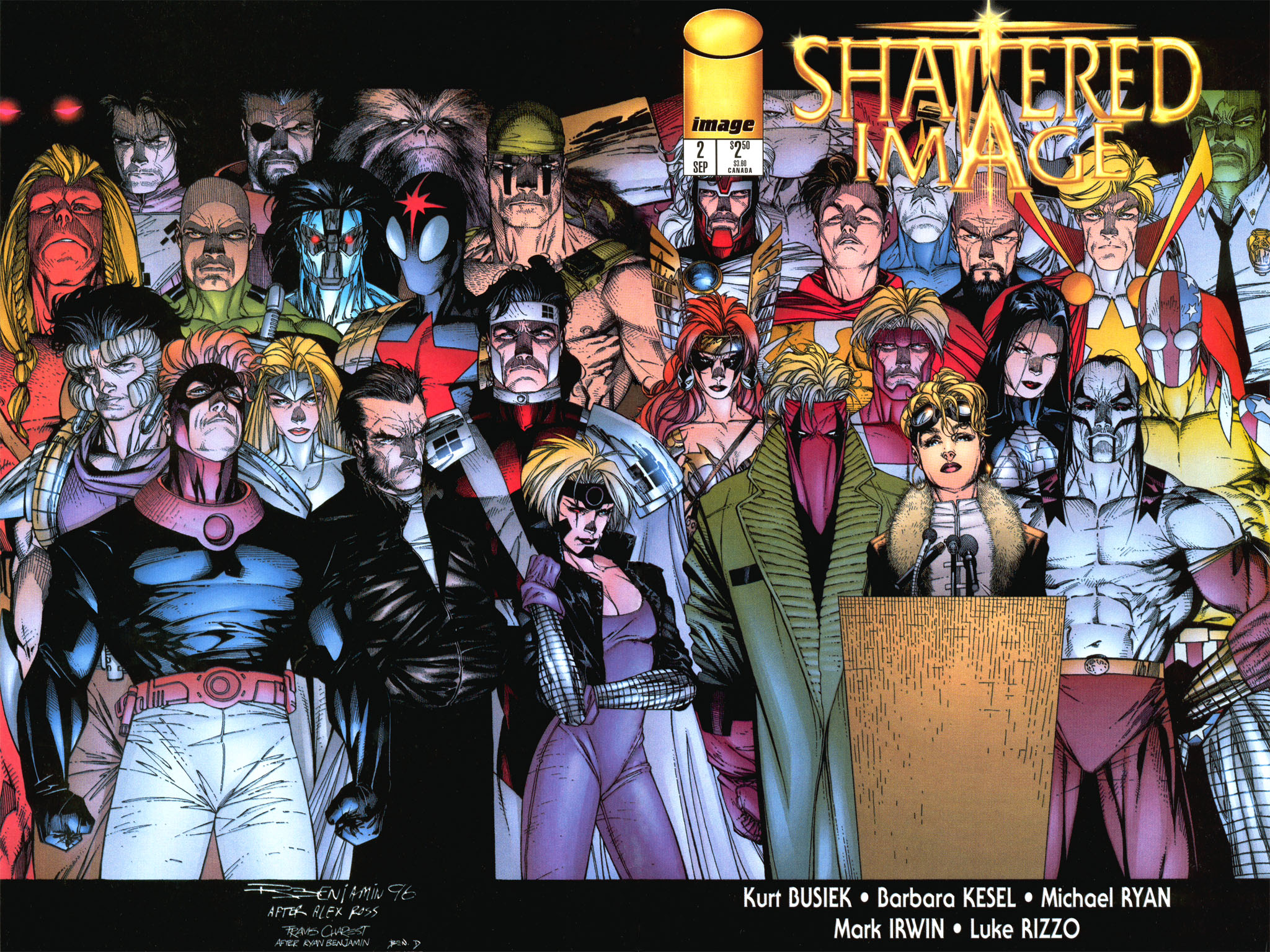 Read online Shattered Image comic -  Issue #2 - 1