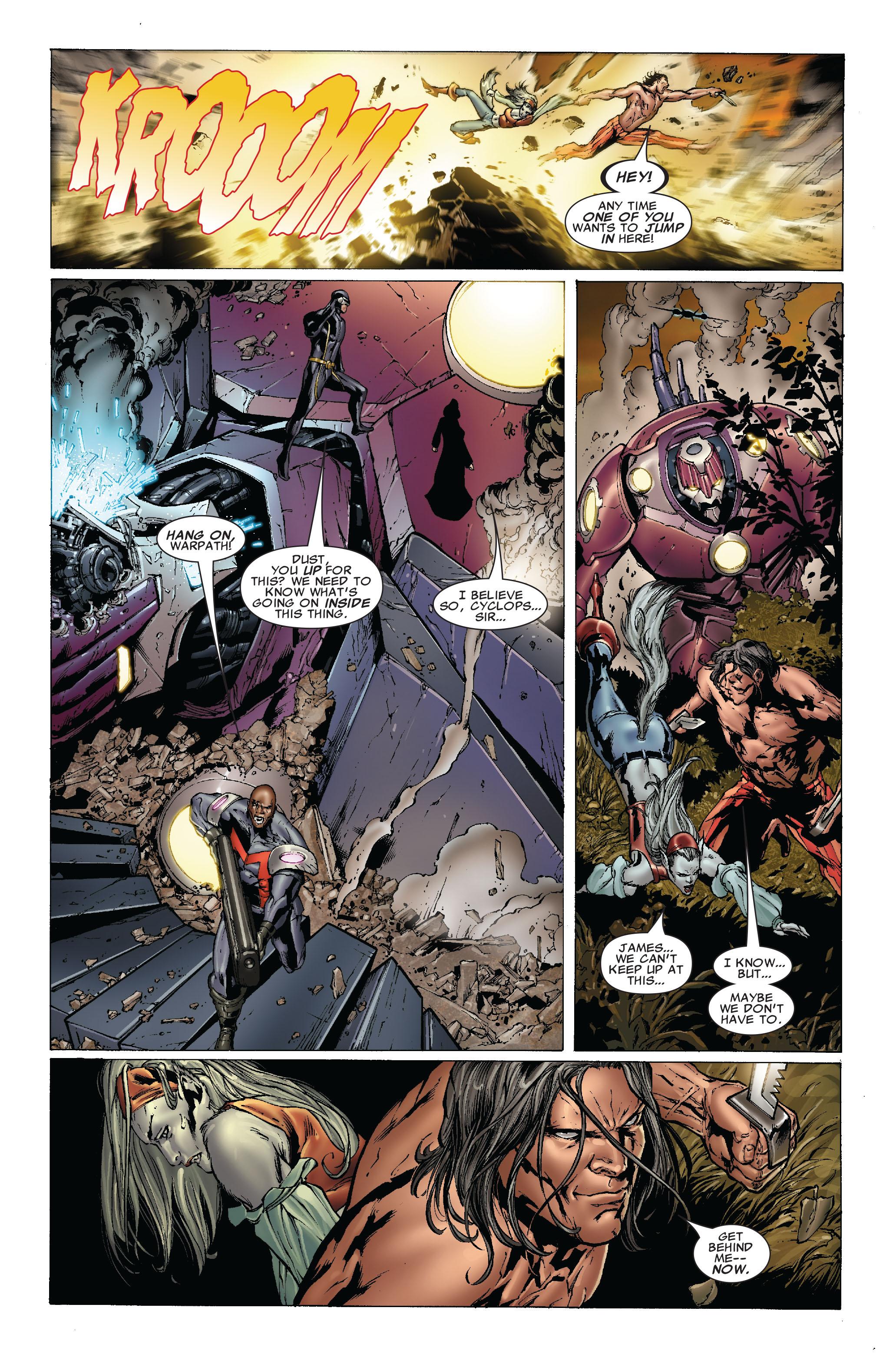 Read online Uncanny X-Men (1963) comic -  Issue #493 - 12