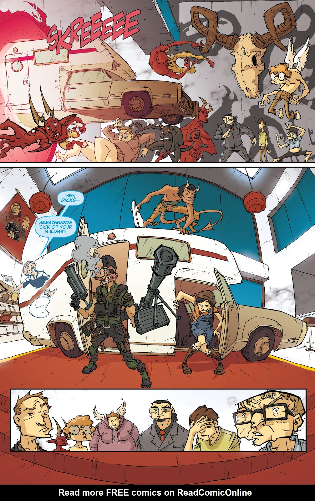 Read online The End Times of Bram and Ben comic -  Issue #4 - 14