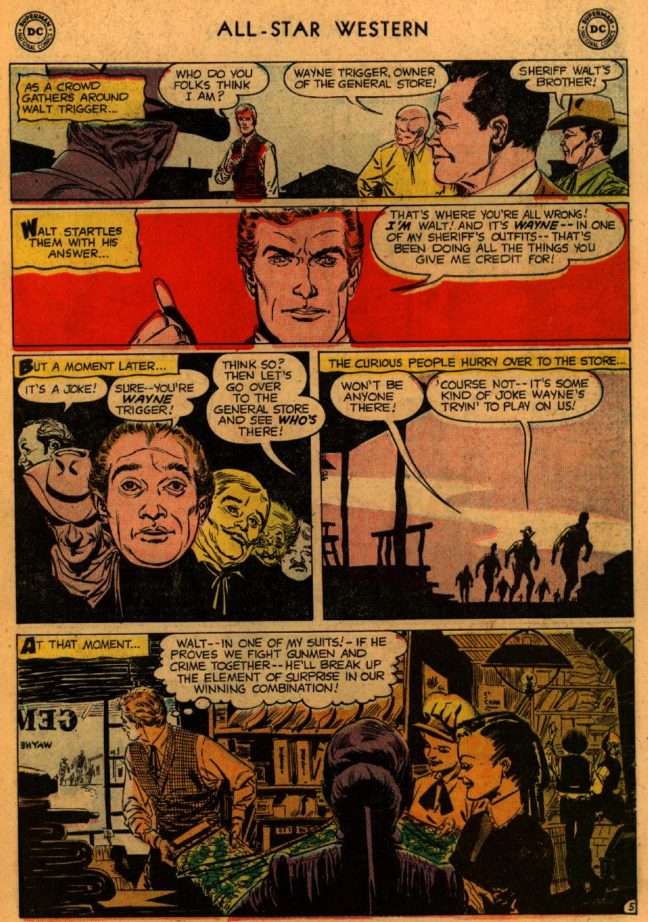 Read online All-Star Western (1951) comic -  Issue #102 - 7