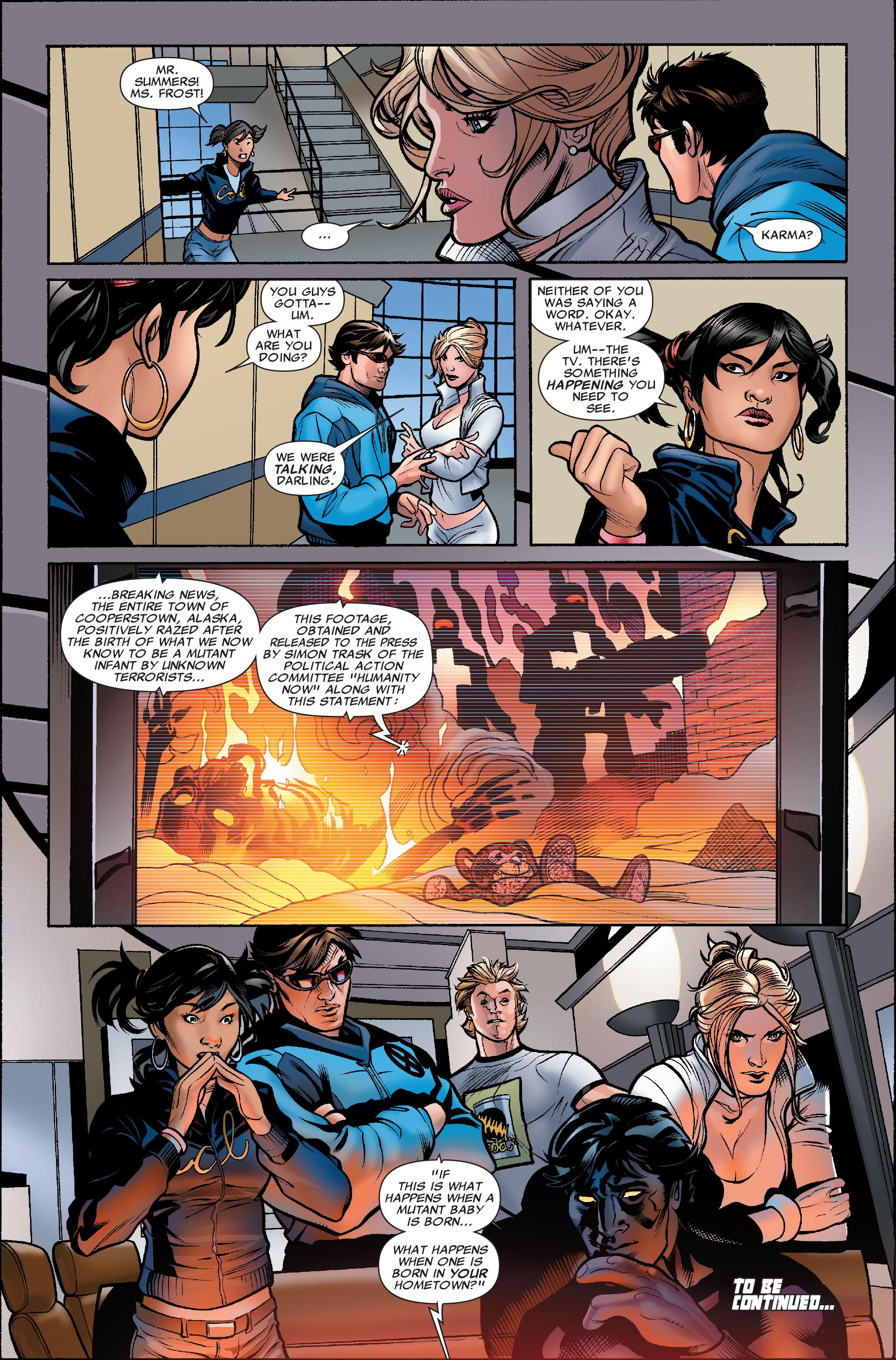 Read online Uncanny X-Men (1963) comic -  Issue #504 - 24