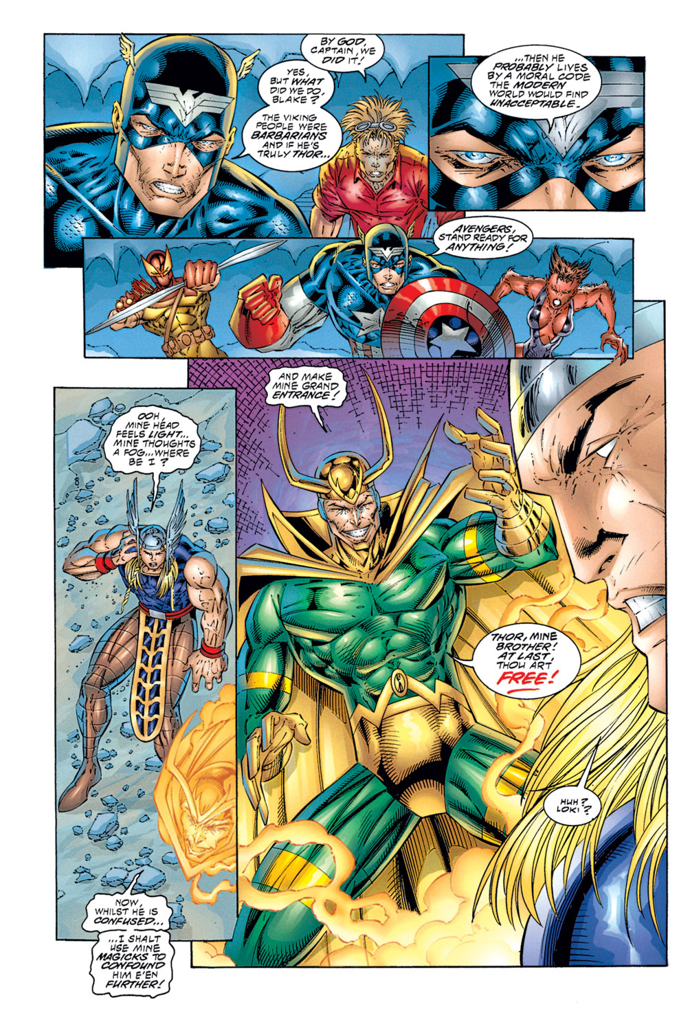 Read online Avengers (1996) comic -  Issue #1 - 24
