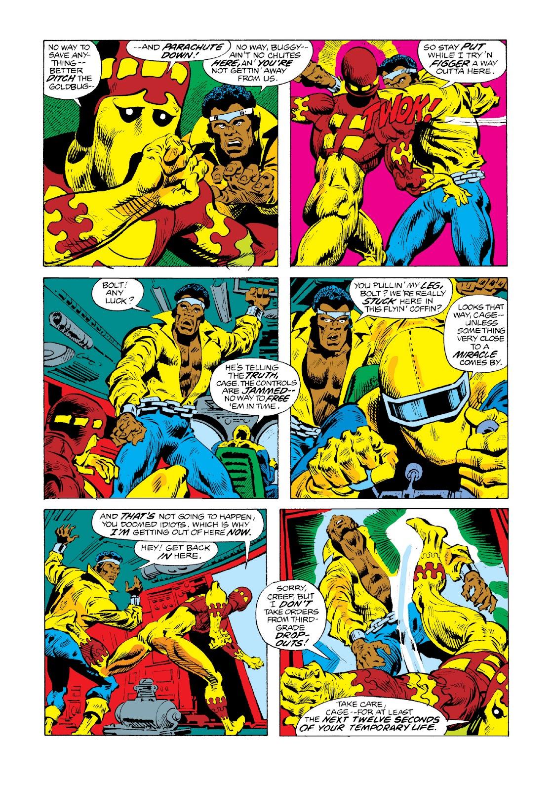 Read online Marvel Masterworks: Luke Cage, Power Man comic -  Issue # TPB 3 (Part 3) - 25