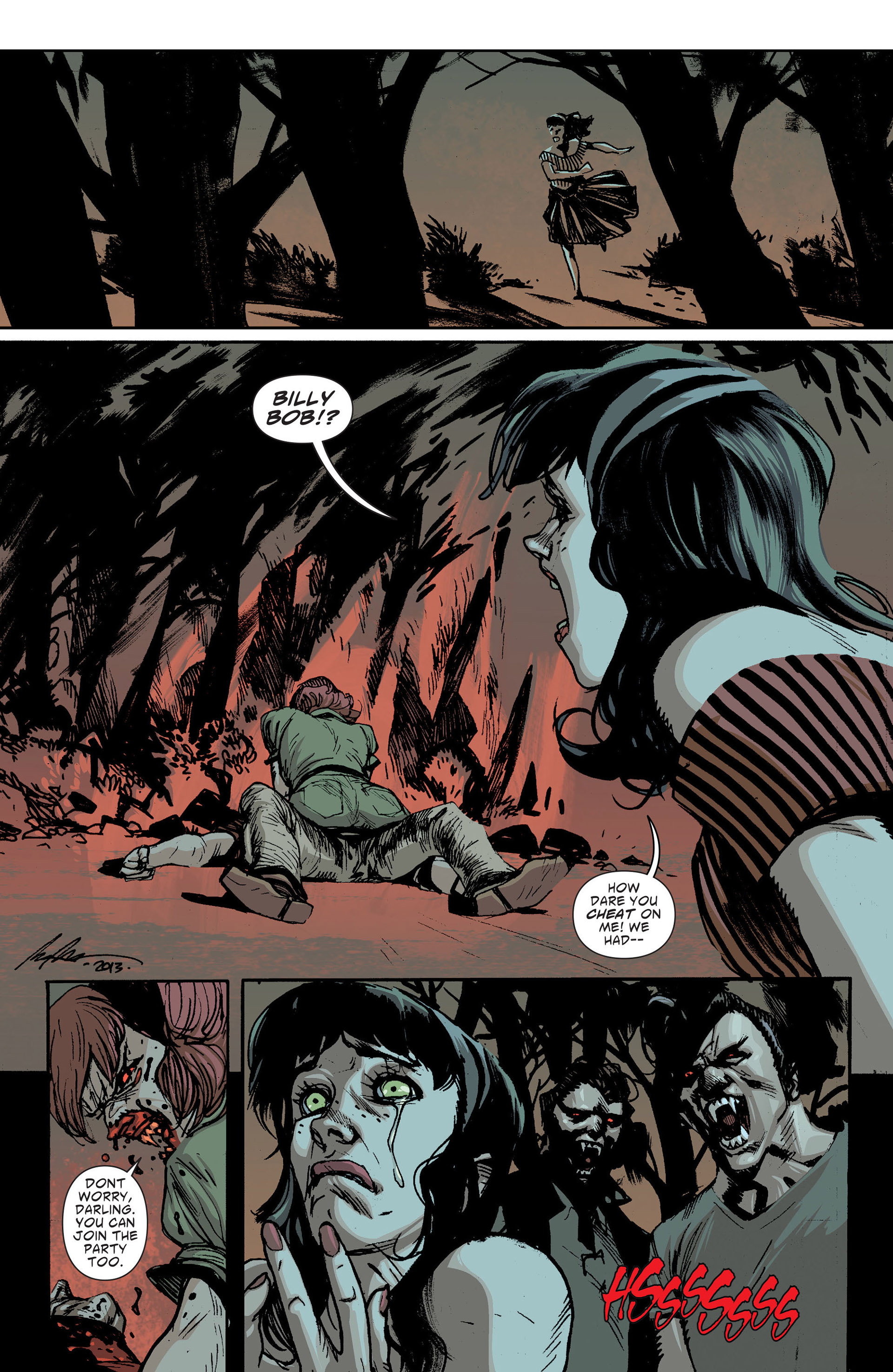Read online American Vampire: The Long Road To Hell comic -  Issue # Full - 7