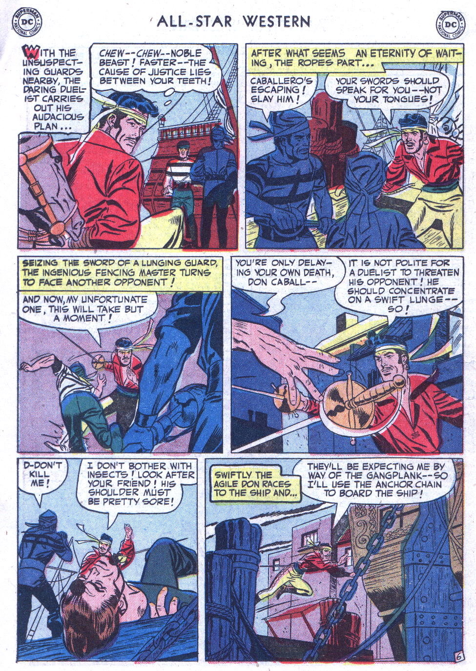 Read online All-Star Western (1951) comic -  Issue #59 - 20
