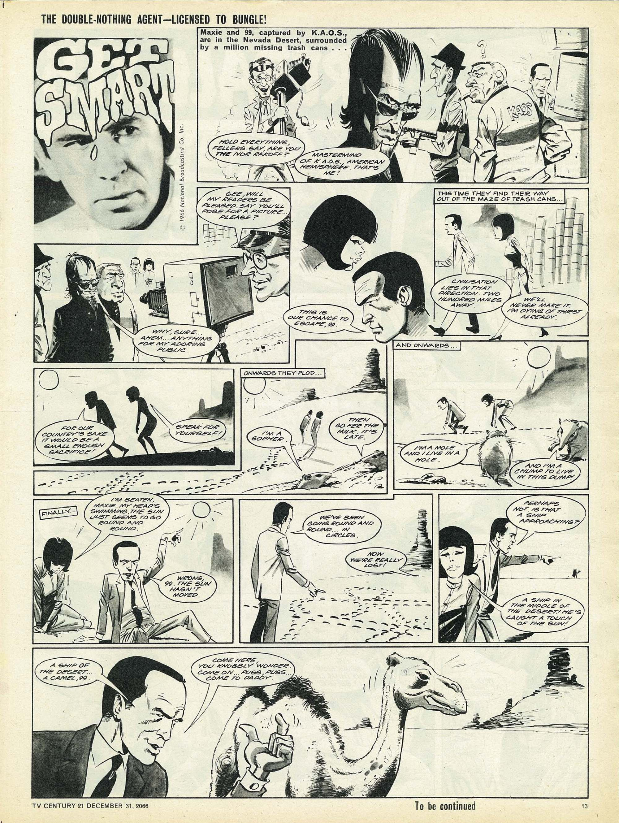 Read online TV Century 21 (TV 21) comic -  Issue #102 - 12