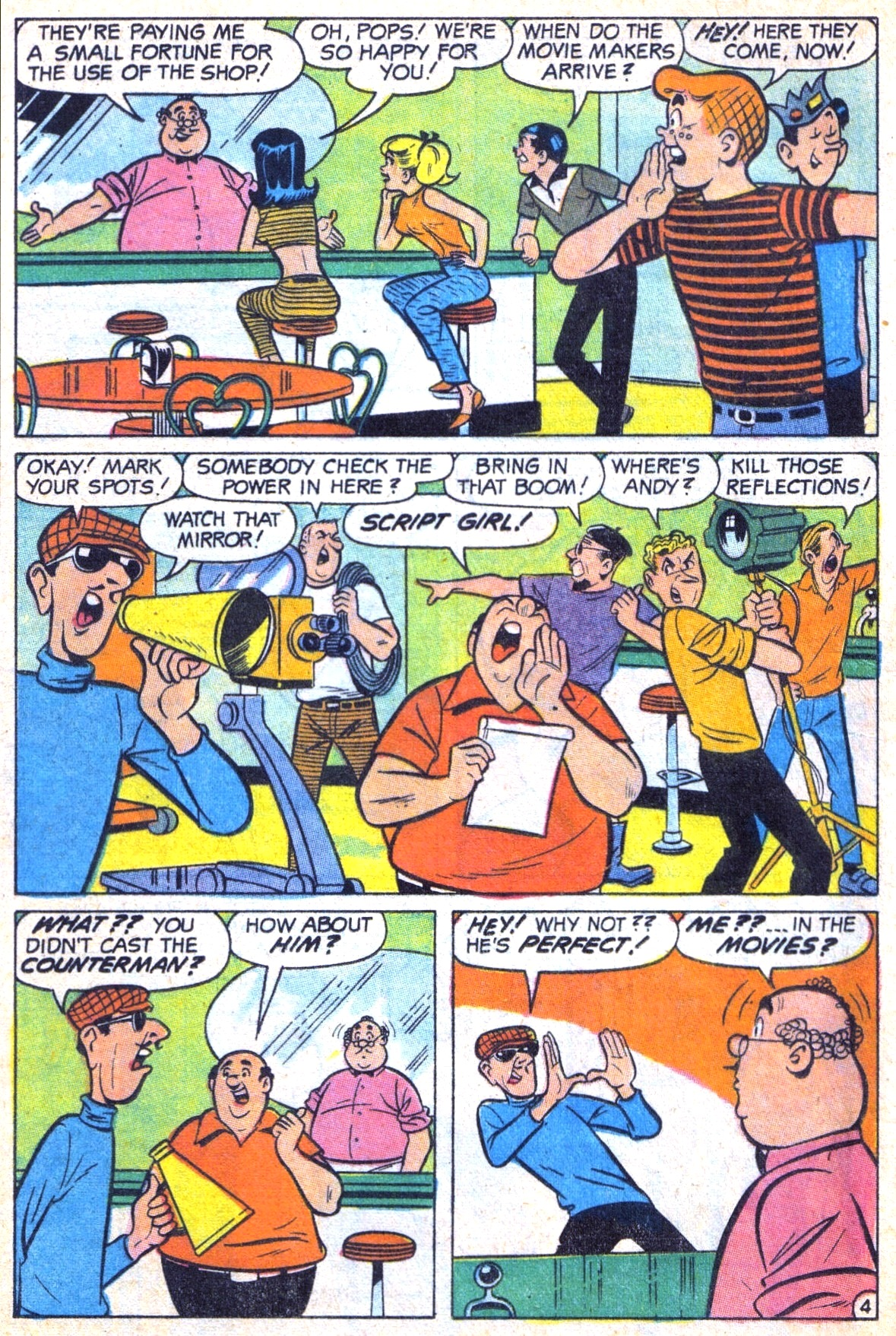 Read online Archie (1960) comic -  Issue #185 - 16