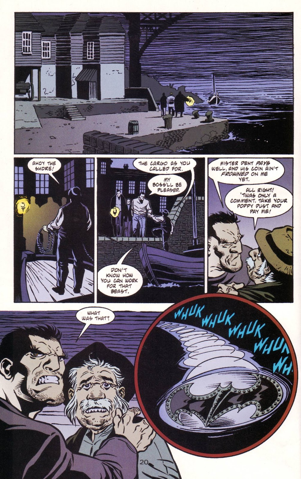 Batman: Two Faces issue Full - Page 21