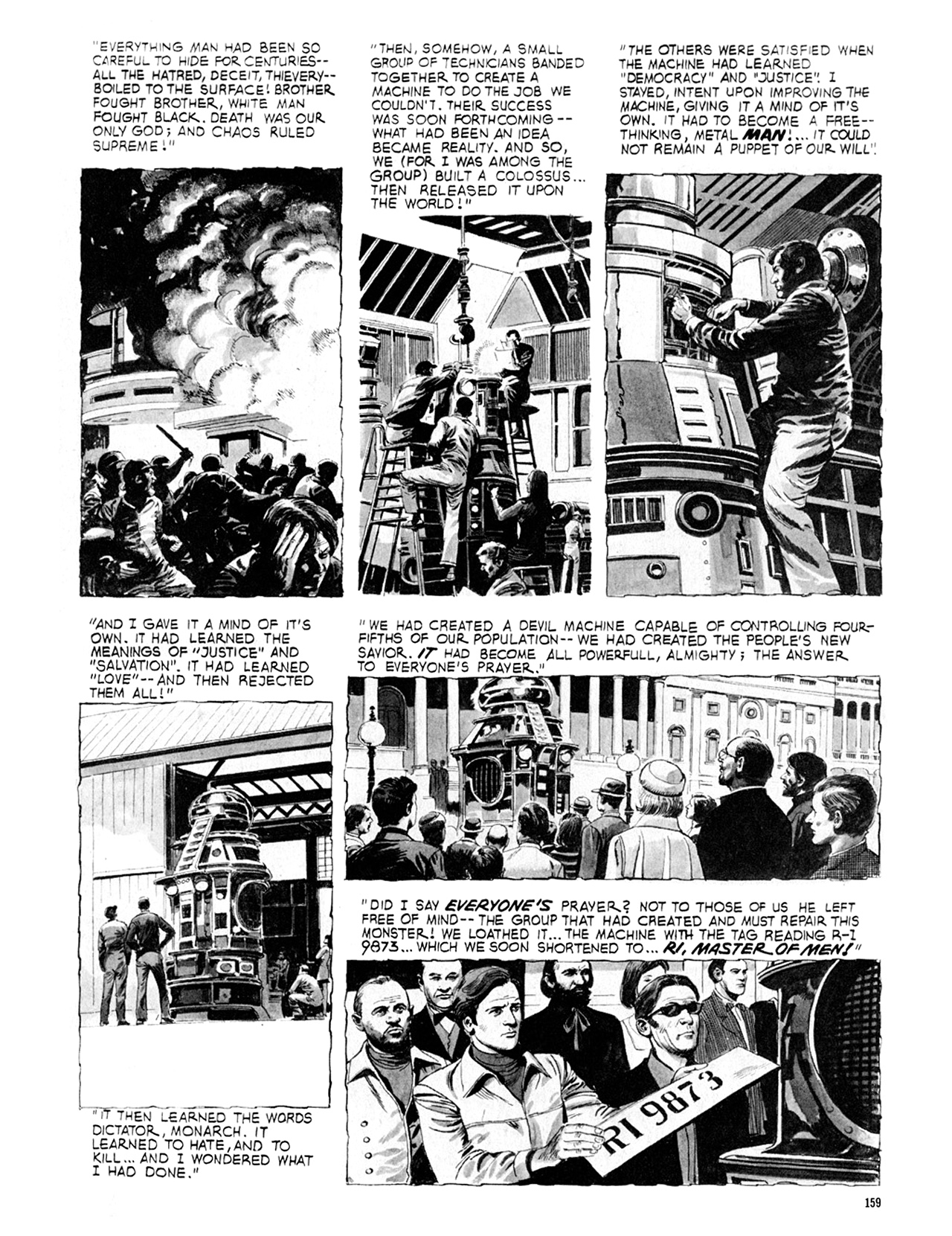 Read online Eerie Archives comic -  Issue # TPB 9 - 160
