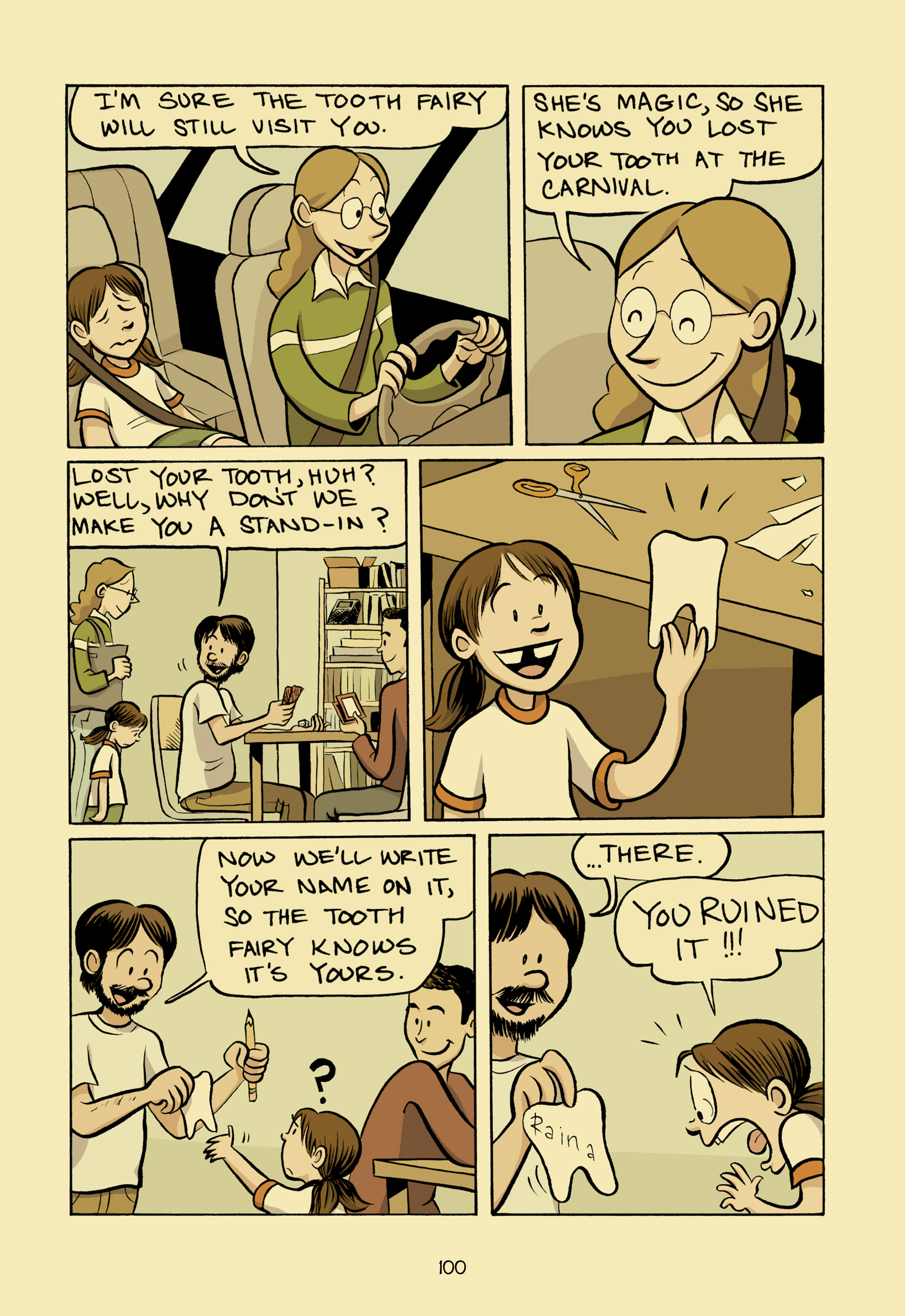 Read online Smile comic -  Issue # TPB - 106