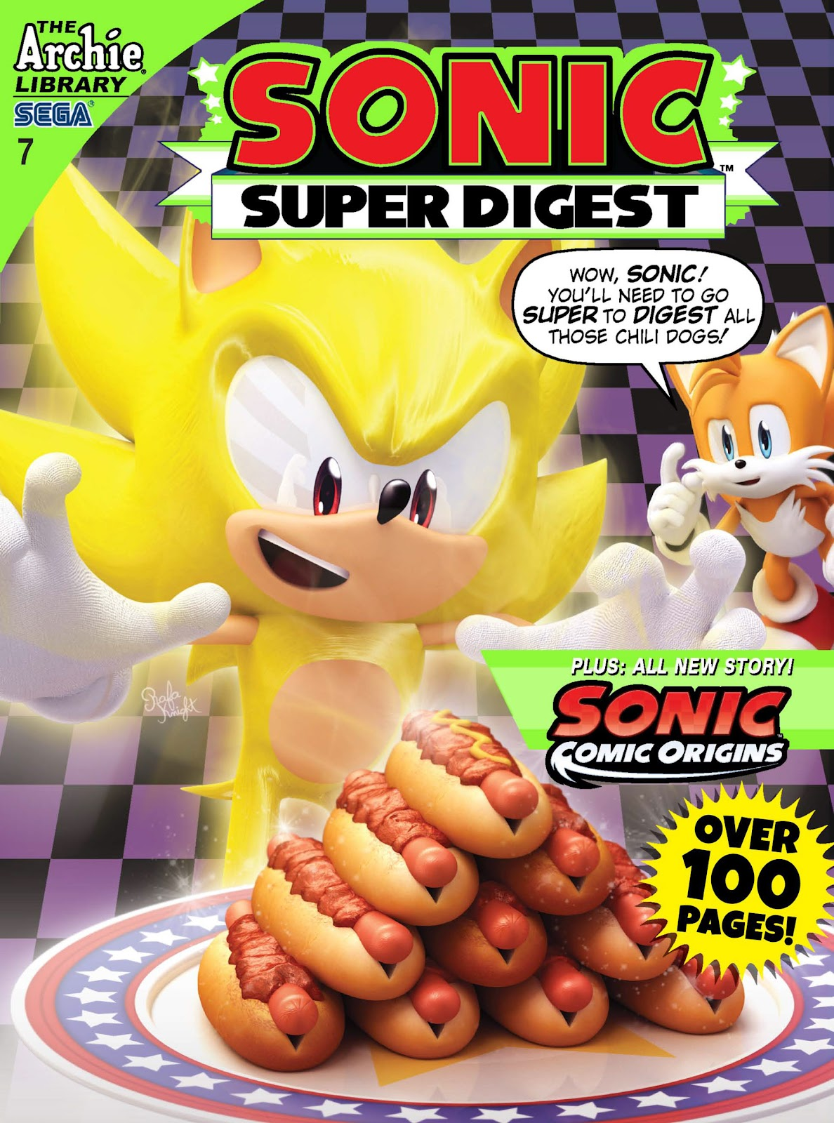 Sonic Super Digest 7 Page 1