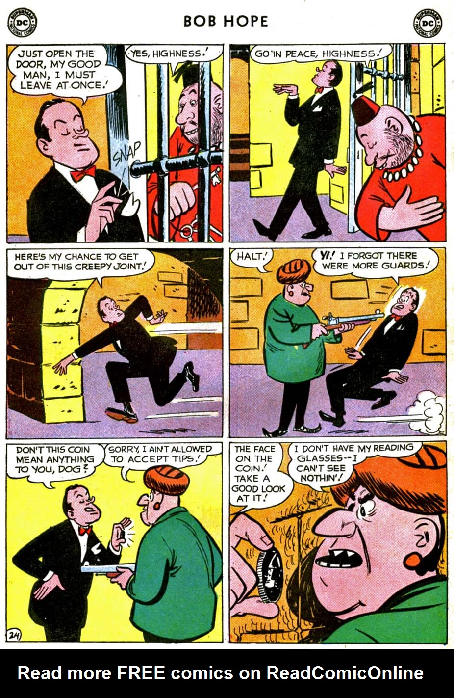 The Adventures of Bob Hope issue 71 - Page 30