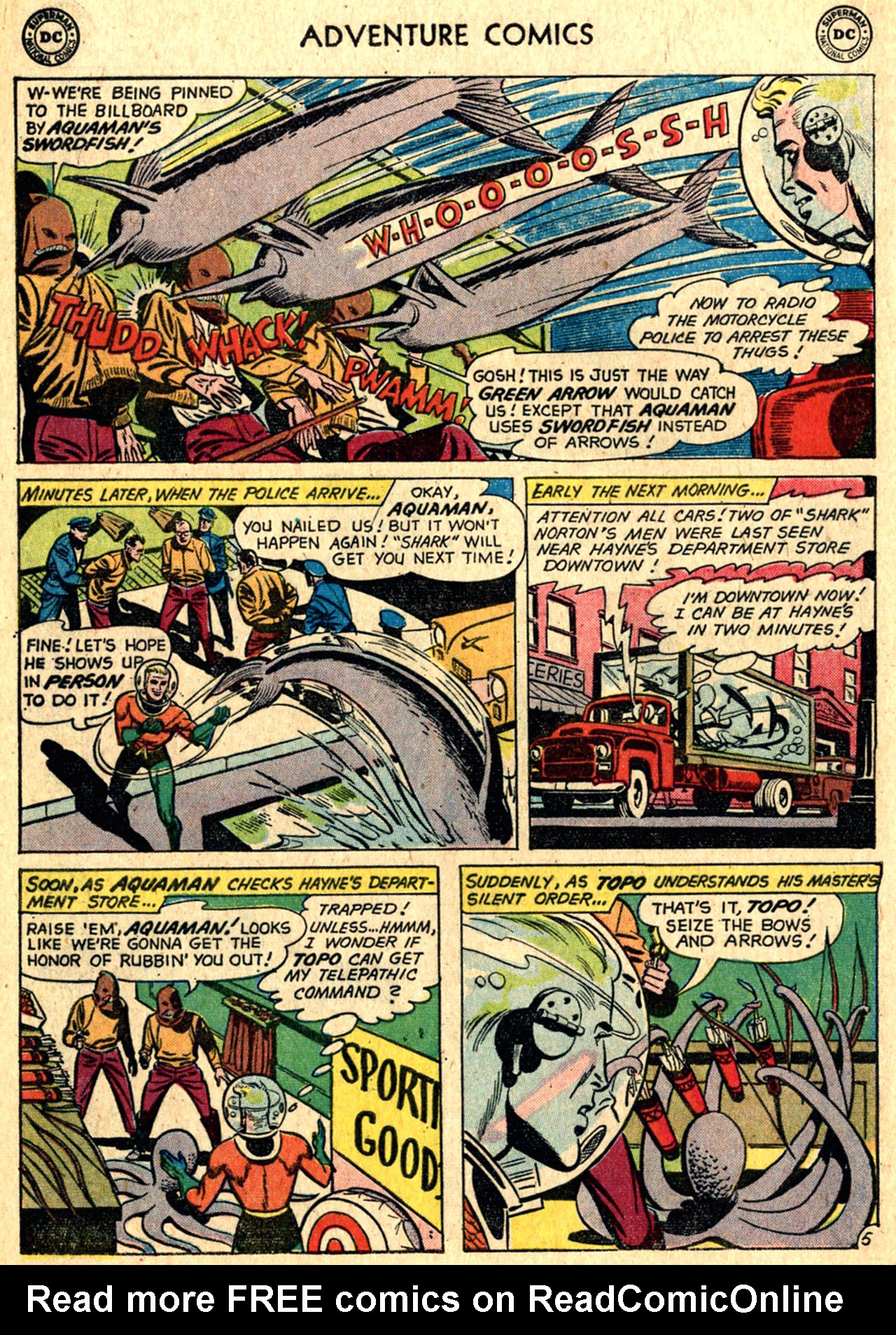 Read online Adventure Comics (1938) comic -  Issue #267 - 20
