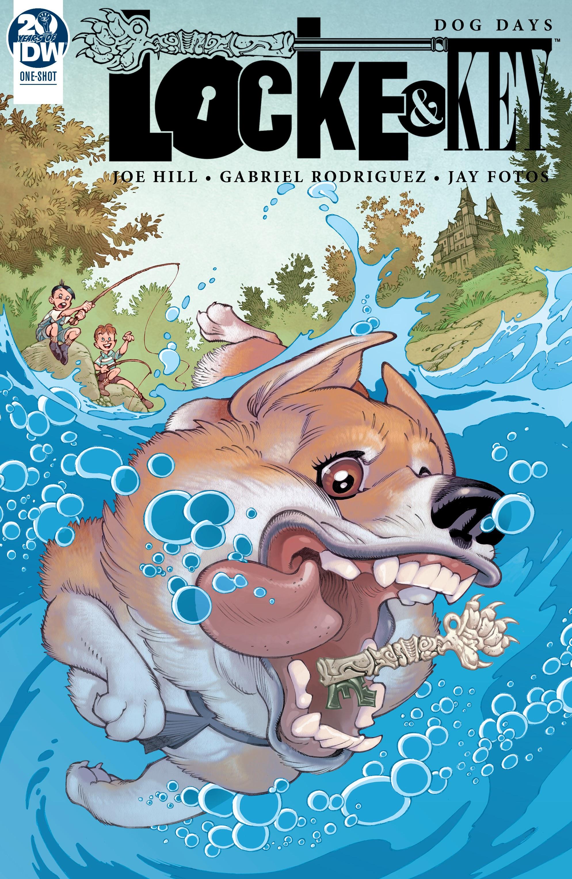 Locke and Key: Dog Days Full Page 1