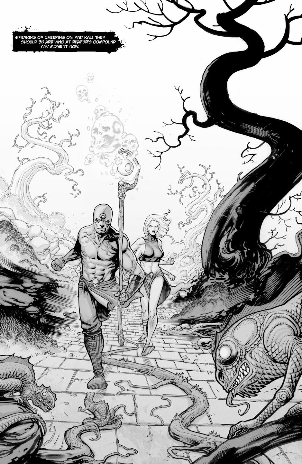 Read online Reaper comic -  Issue #2 - 6