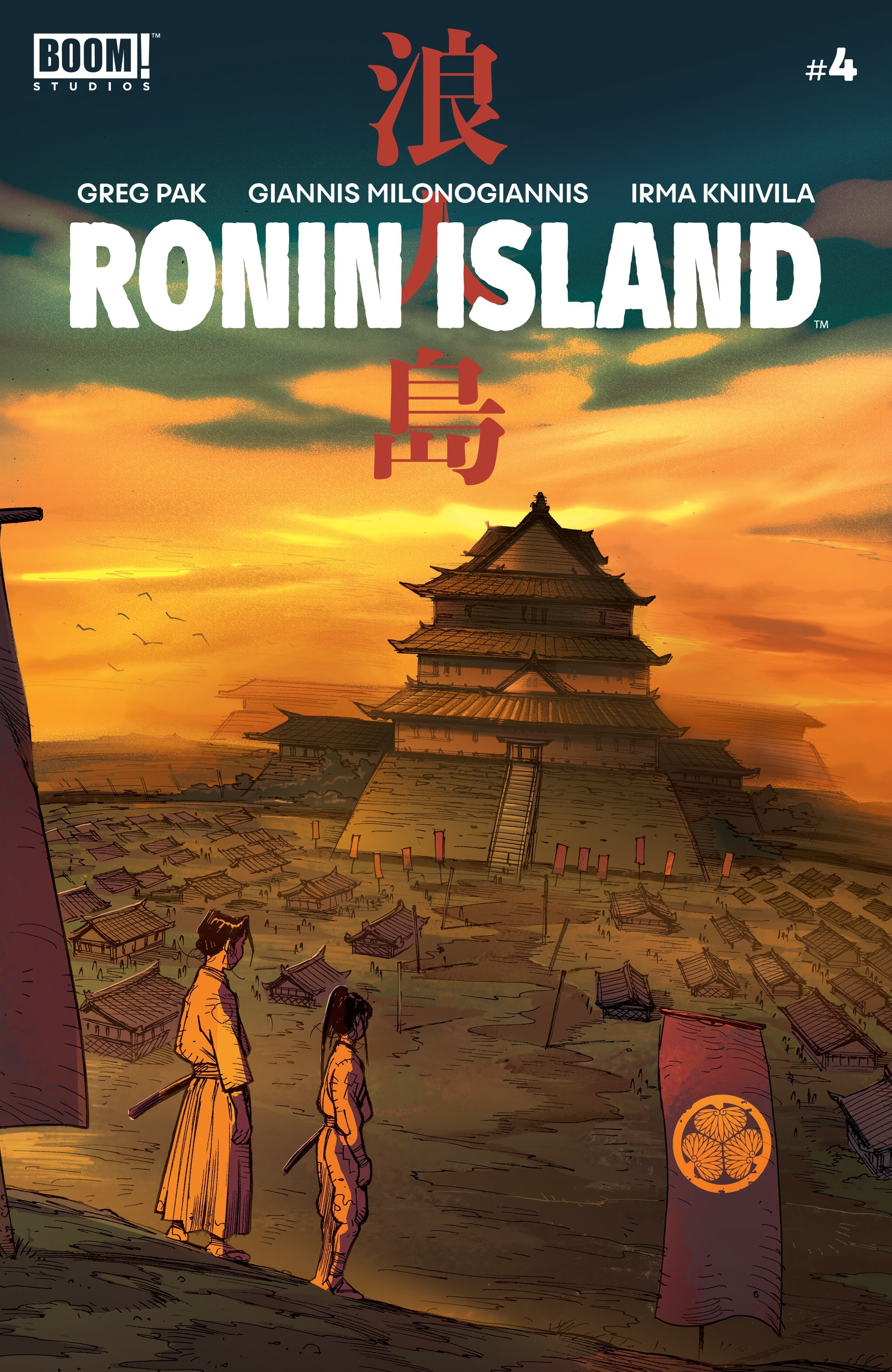 Ronin Island 4 Page 1