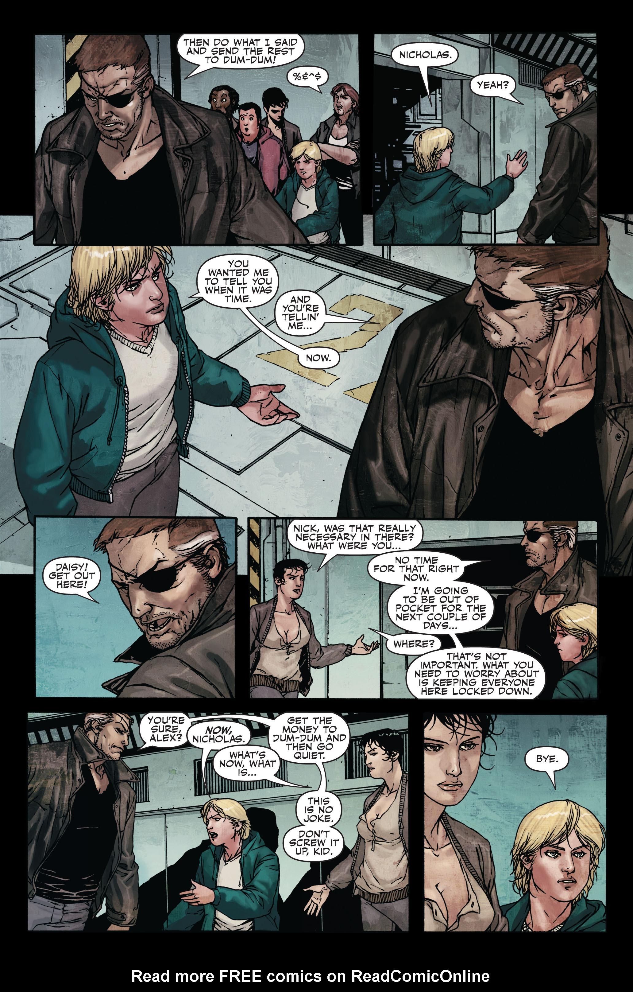Read online Secret Warriors comic -  Issue #7 - 17