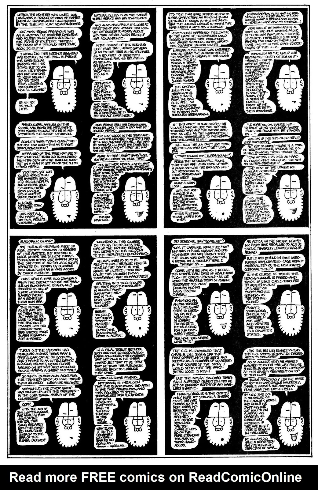 Read online The Nearly Complete Essential Hembeck Archives Omnibus comic -  Issue # TPB (Part 1) - 59