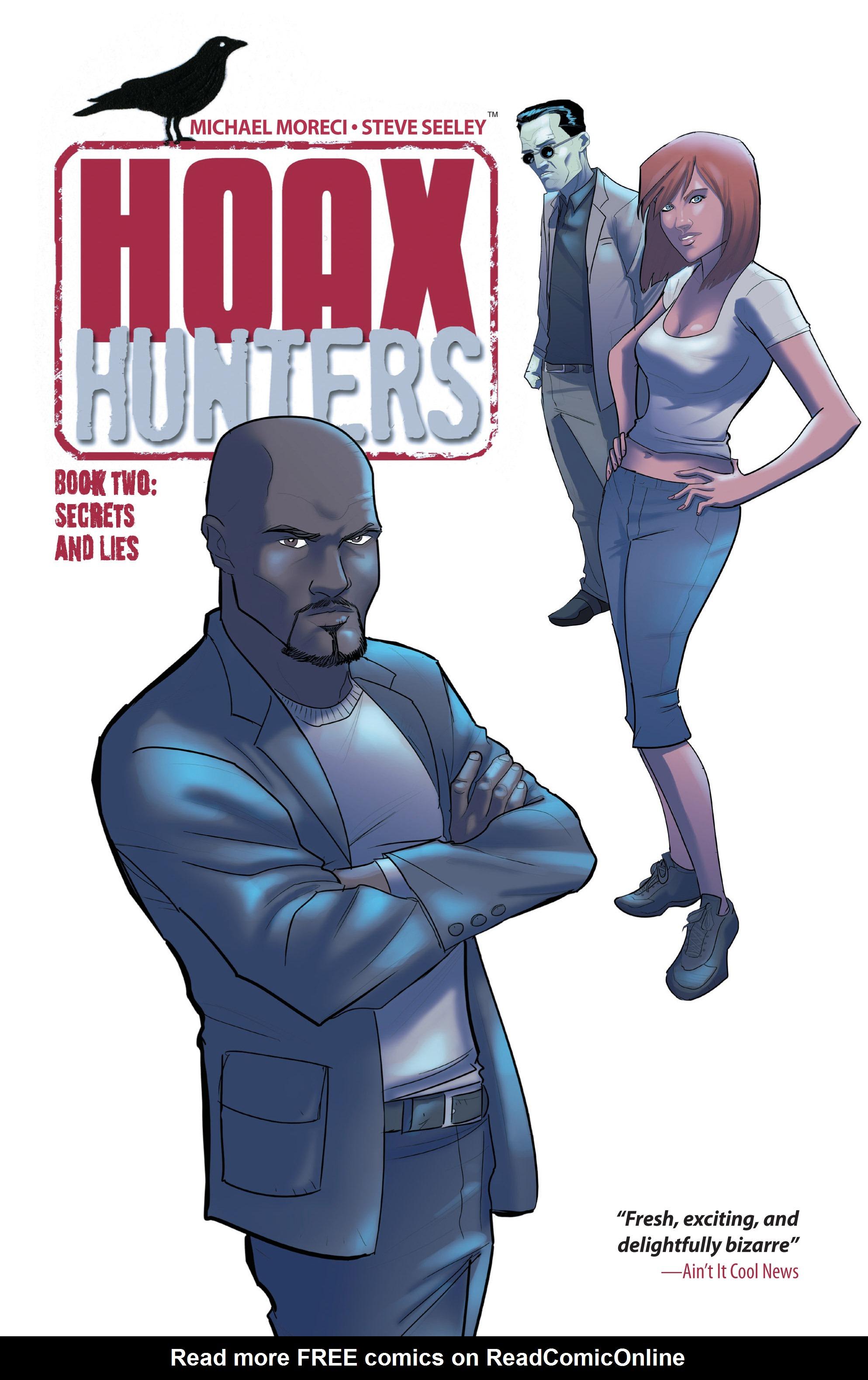 Read online Hoax Hunters (2012) comic -  Issue # TPB 2 - 1