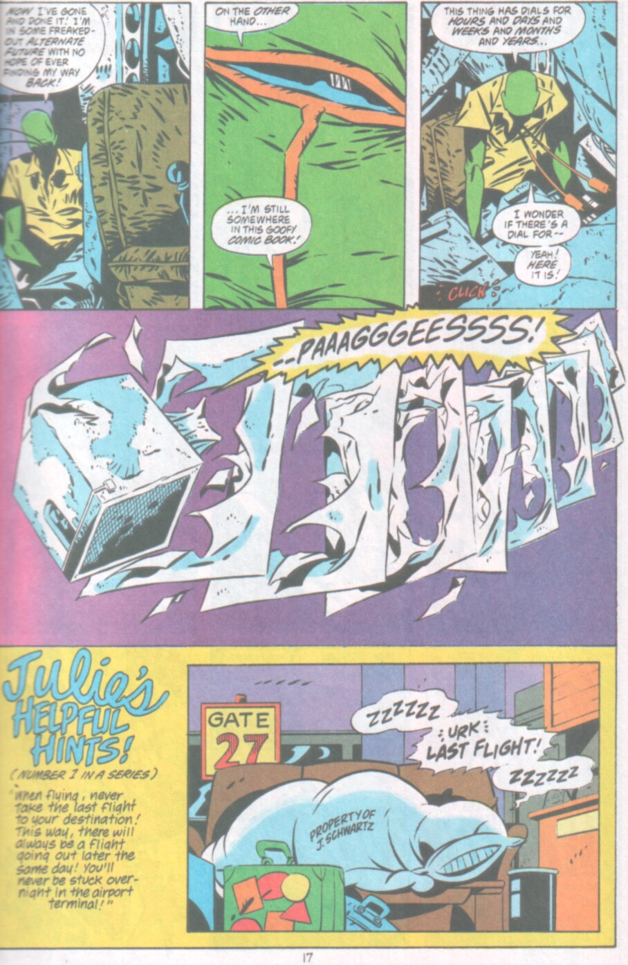 Read online Ambush Bug Nothing Special comic -  Issue # Full - 18