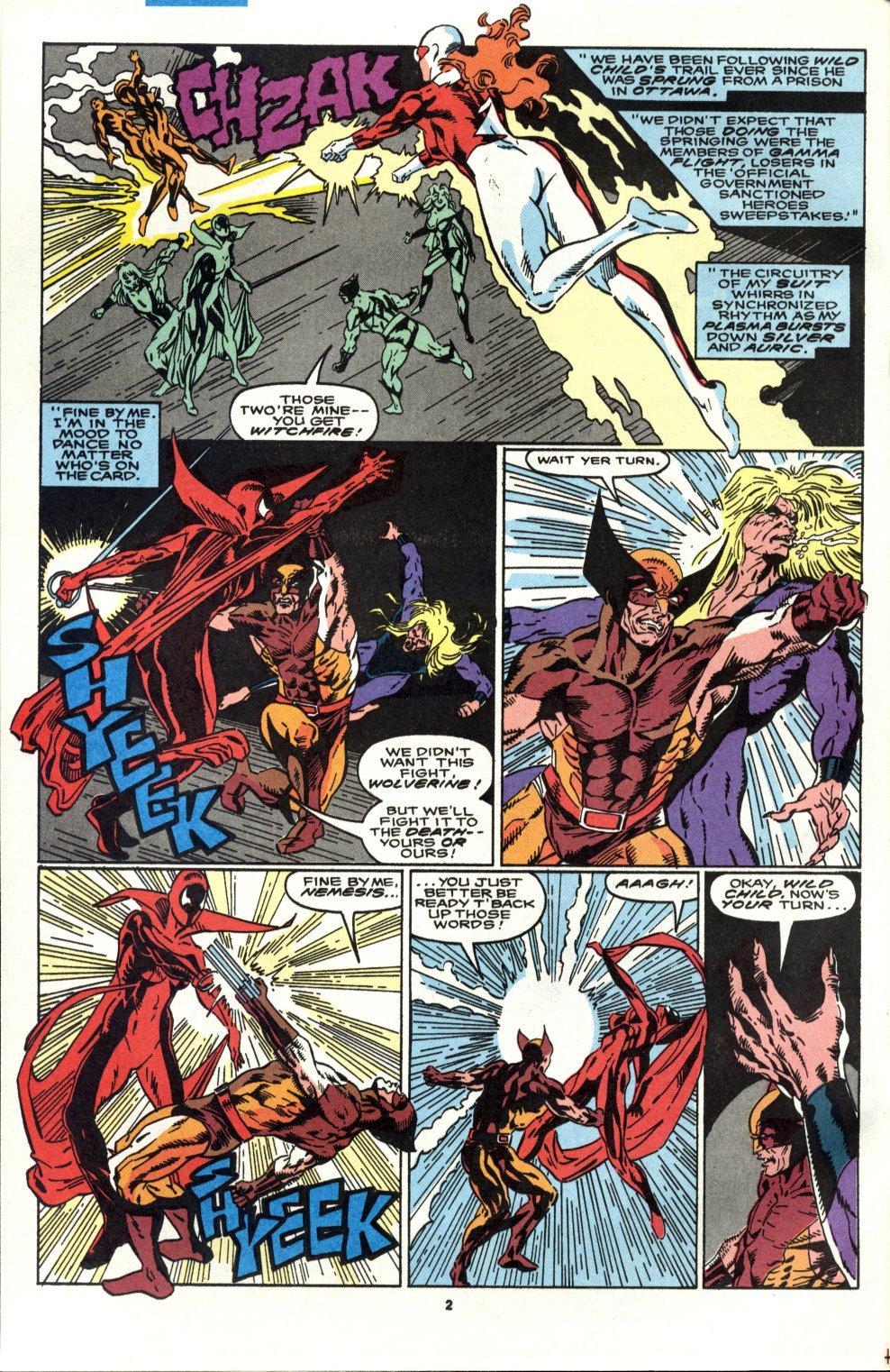 Read online Alpha Flight (1983) comic -  Issue #90 - 3