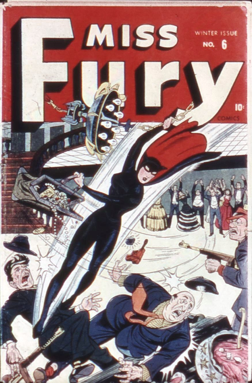 Miss Fury (1942) issue 6 - Page 1