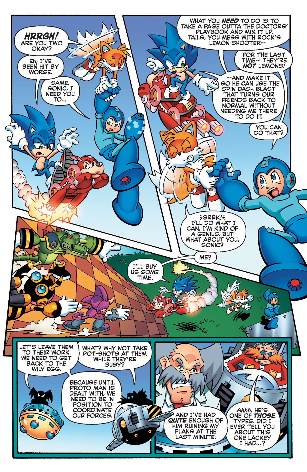 Read online Sonic Mega Man Worlds Collide comic -  Issue # Vol 2 - 42