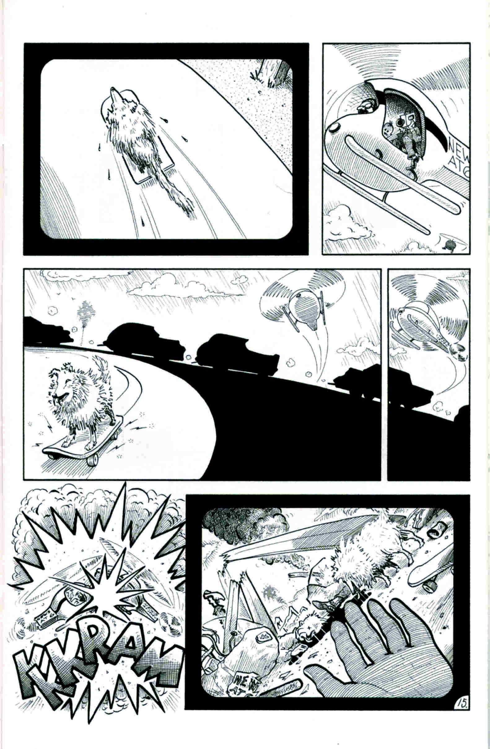 Read online Flaming Carrot & Reid Fleming, World's Toughest Milkman comic -  Issue # Full - 15