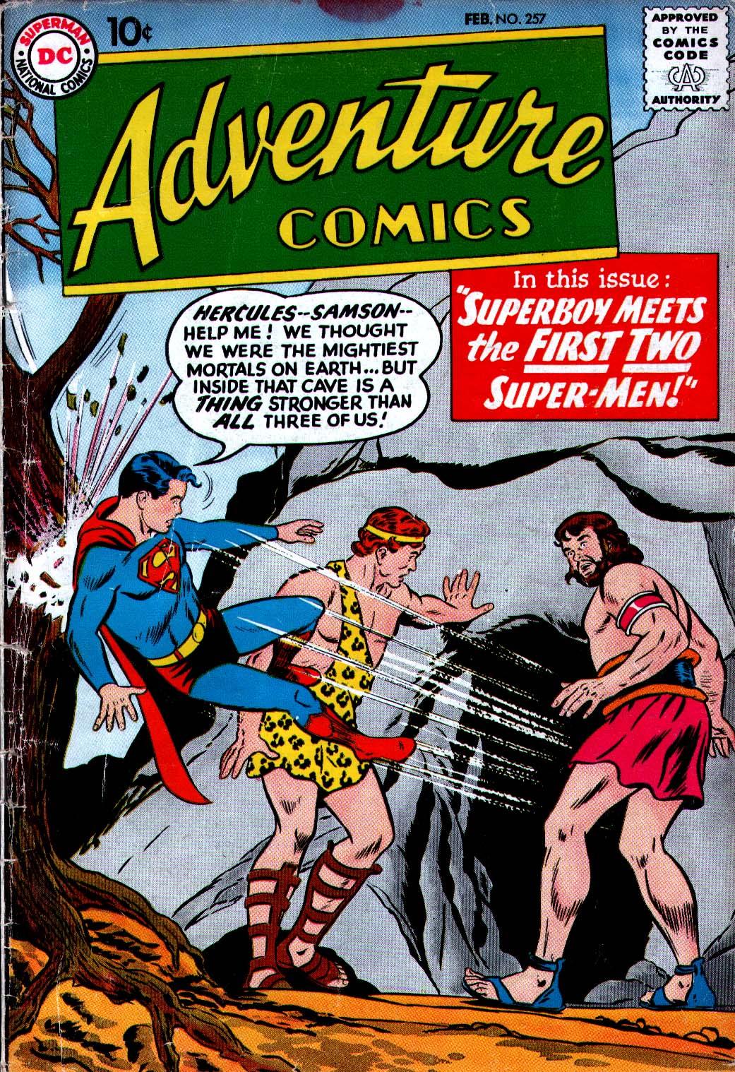 Read online Adventure Comics (1938) comic -  Issue #257 - 1
