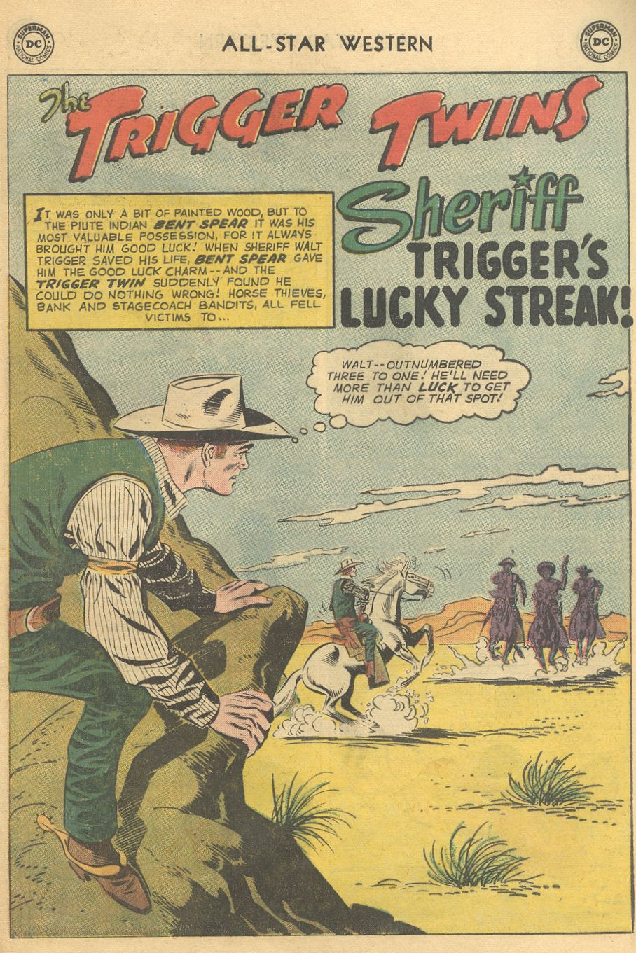 Read online All-Star Western (1951) comic -  Issue #108 - 25