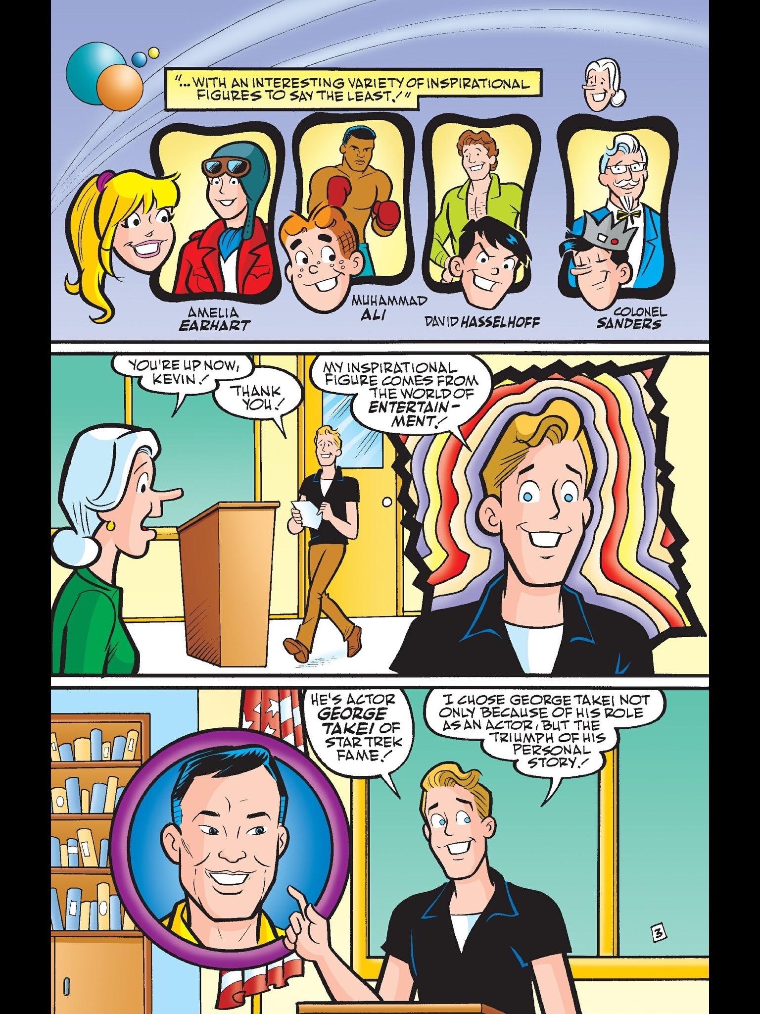 Read online Kevin Keller comic -  Issue #6 - 4