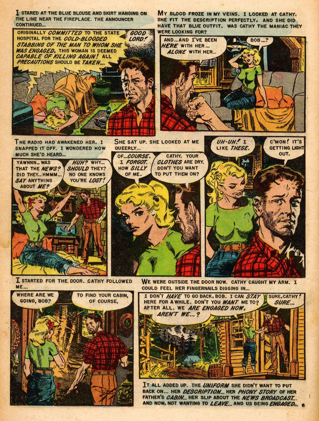 Read online Shock SuspenStories comic -  Issue #9 - 16