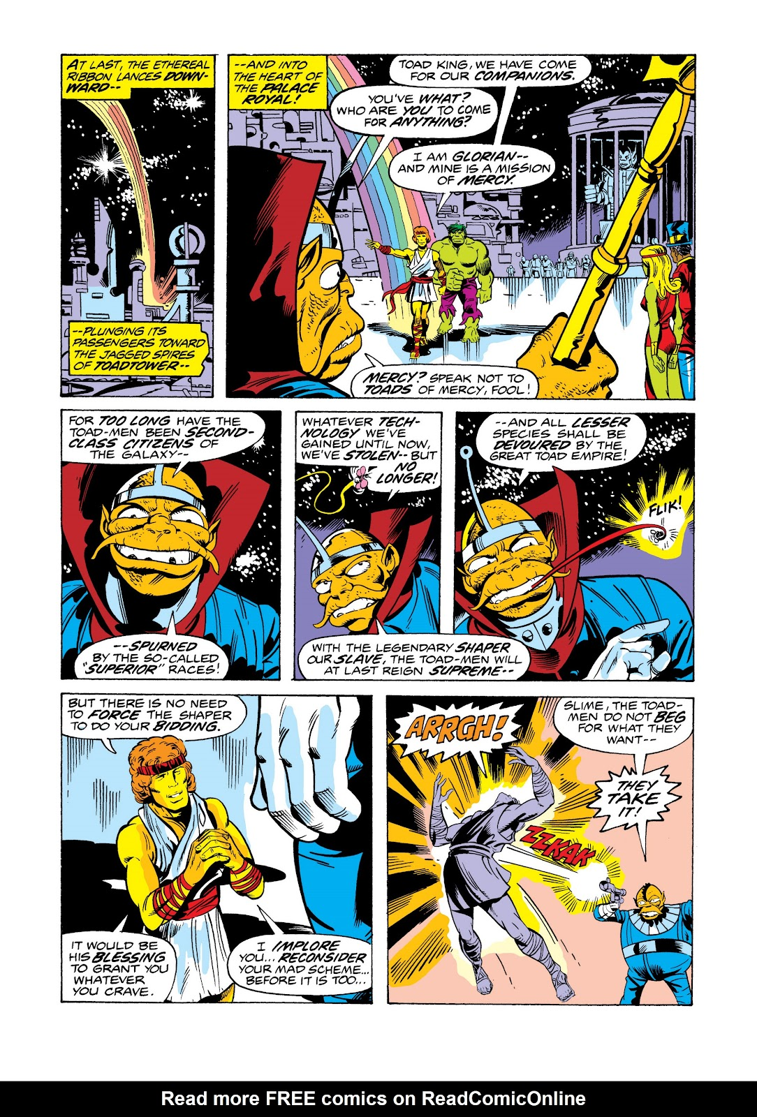 Read online Marvel Masterworks: The Incredible Hulk comic -  Issue # TPB 11 (Part 2) - 51