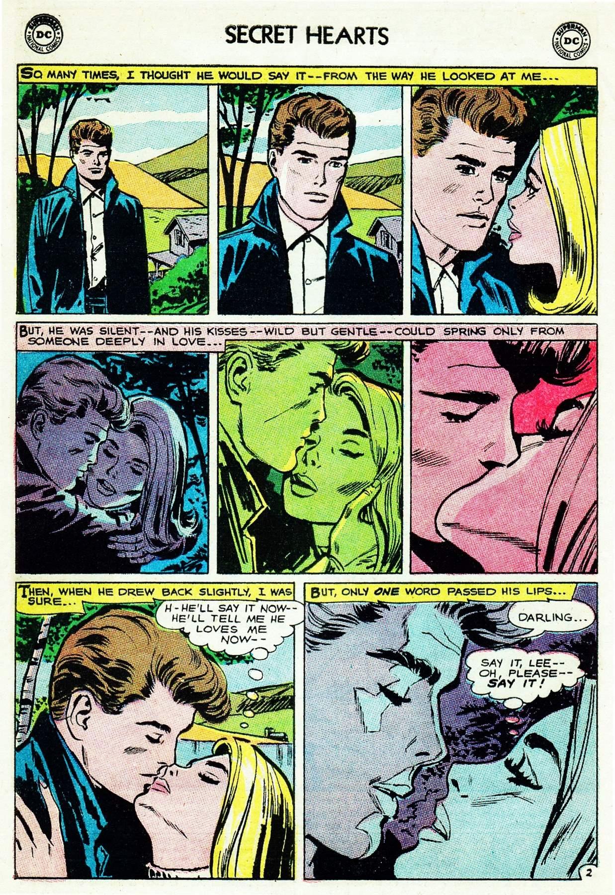 Read online Secret Hearts comic -  Issue #105 - 4