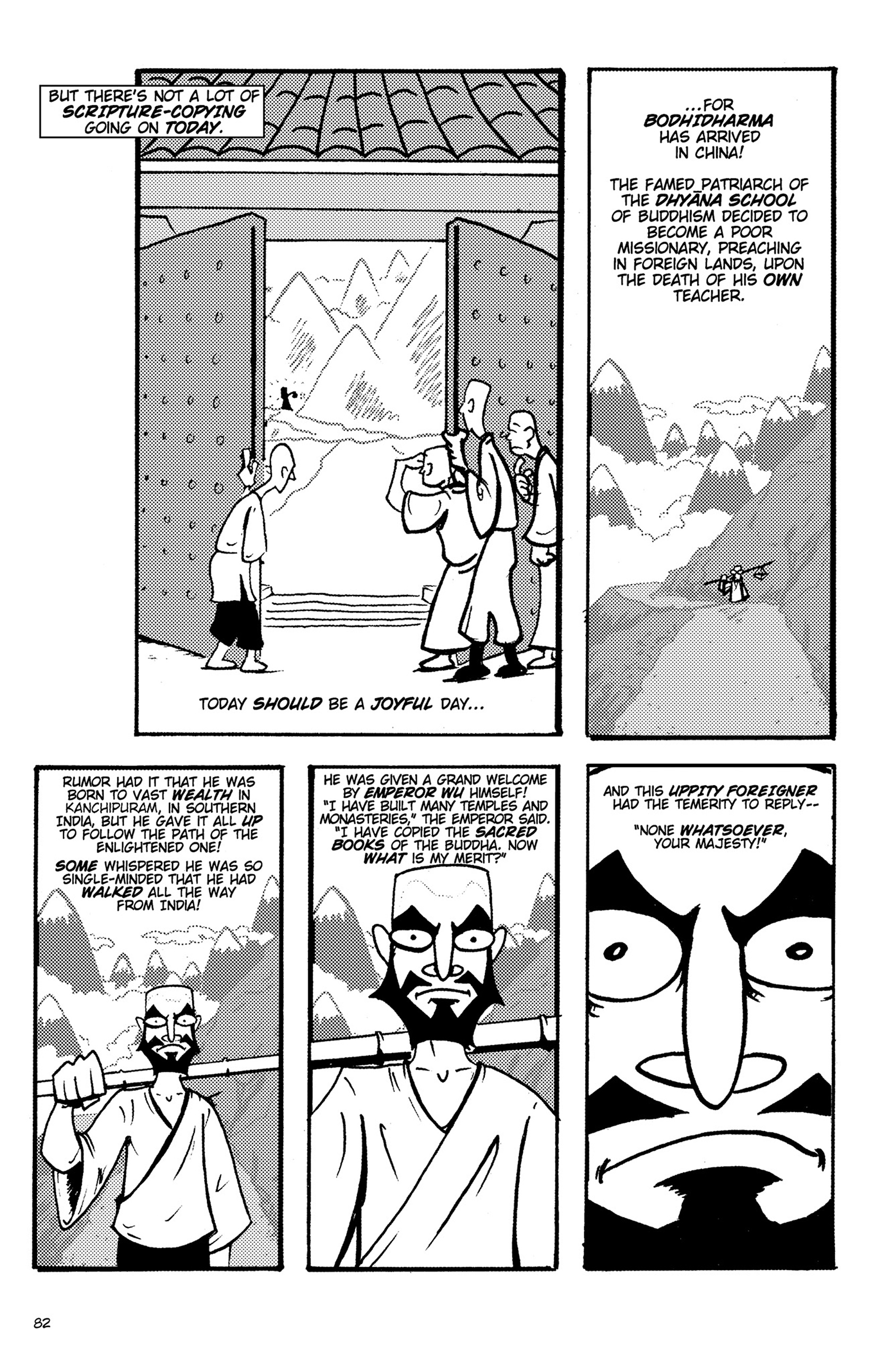 Read online Action Philosophers! comic -  Issue #Action Philosophers! TPB (Part 1) - 82