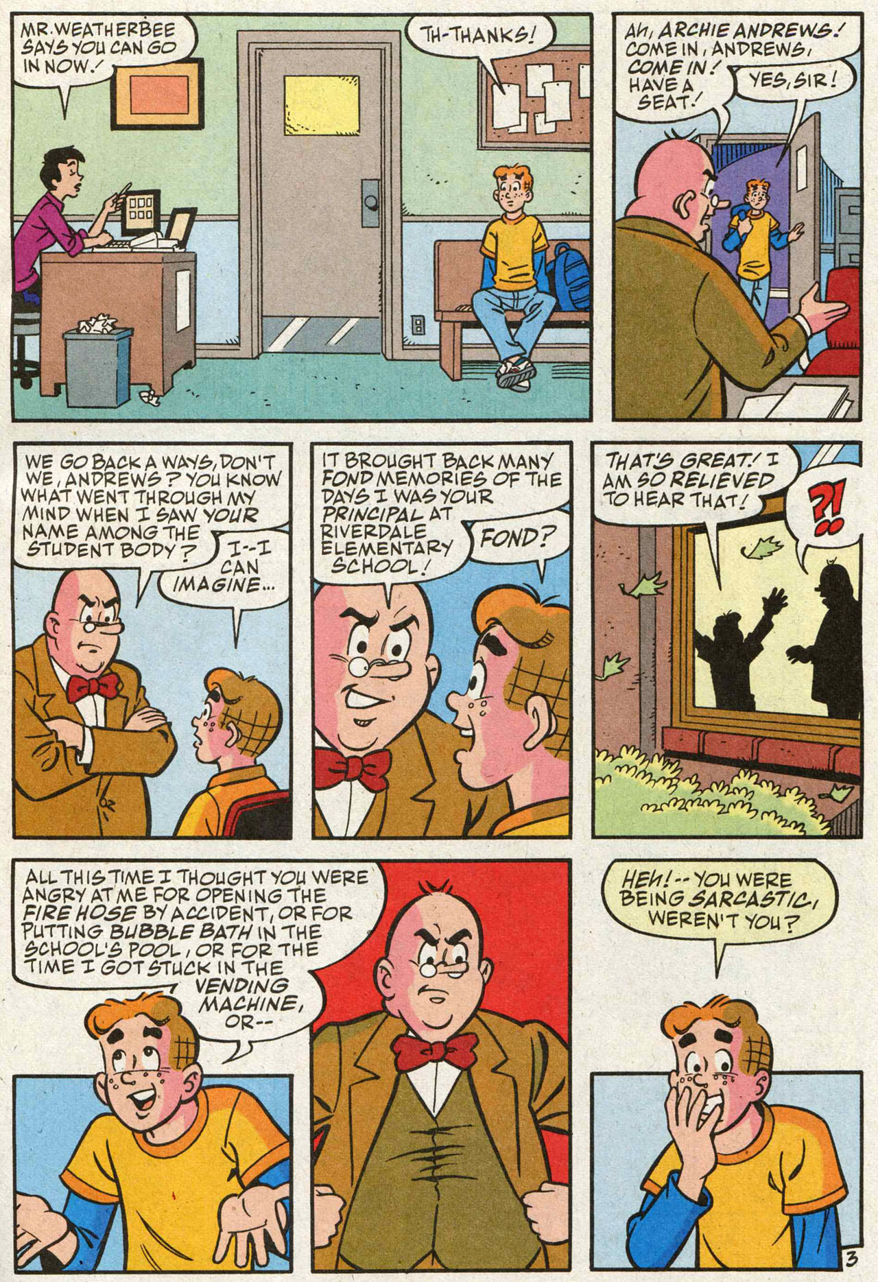 Read online Archie (1960) comic -  Issue #588 - 4
