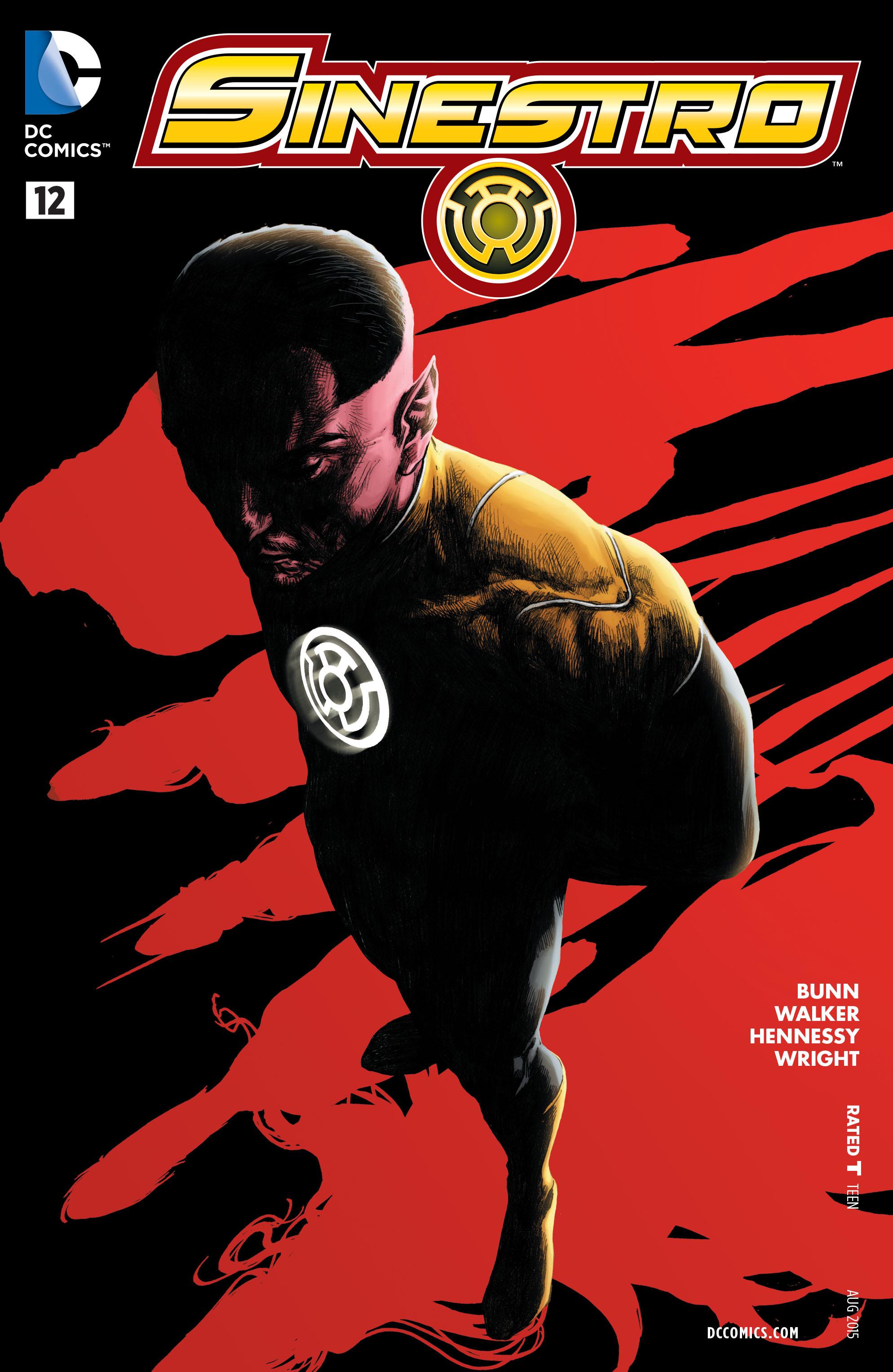 Read online Sinestro comic -  Issue #12 - 1