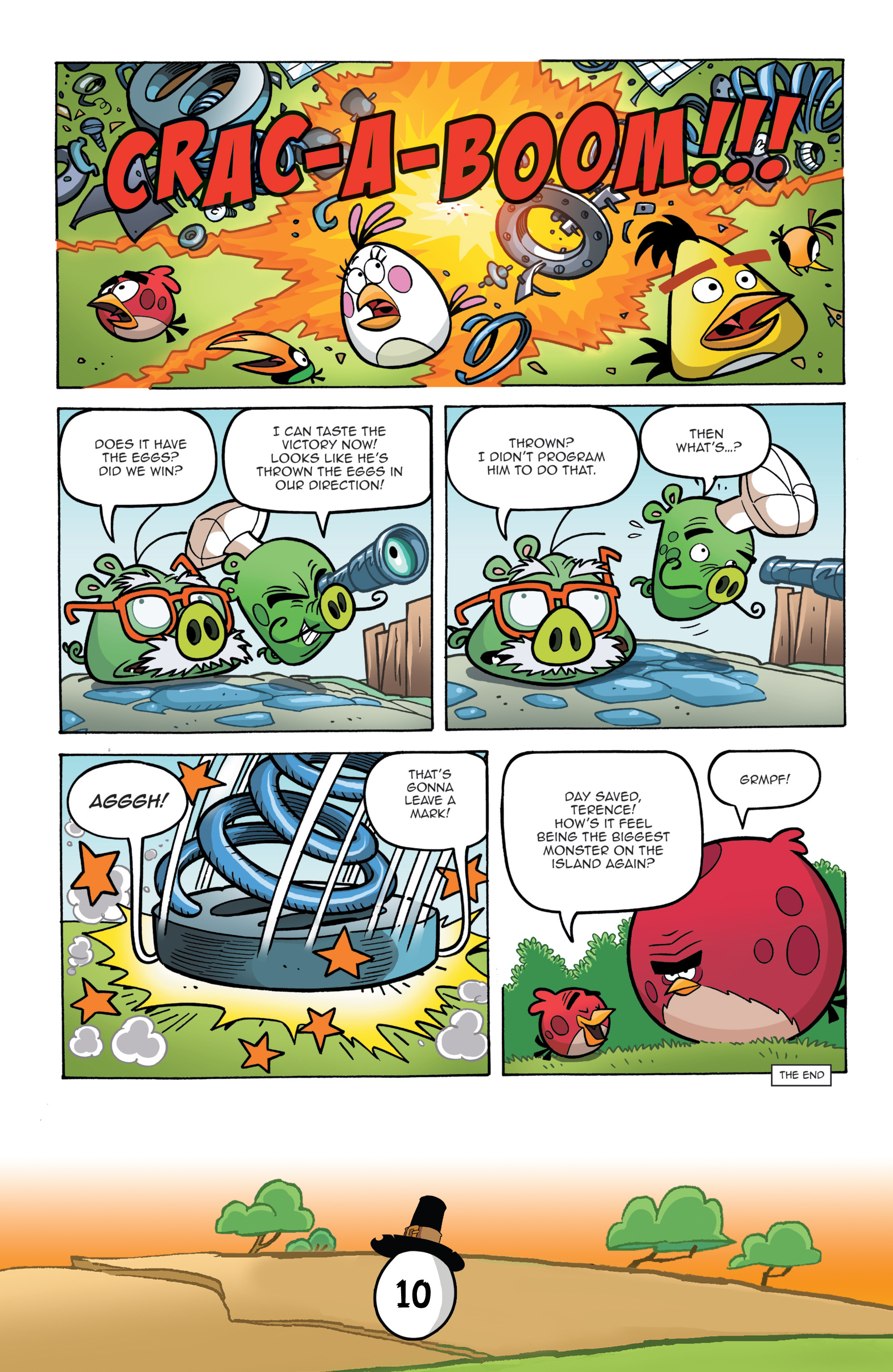 Read online Angry Birds Comics (2016) comic -  Issue #11 - 12