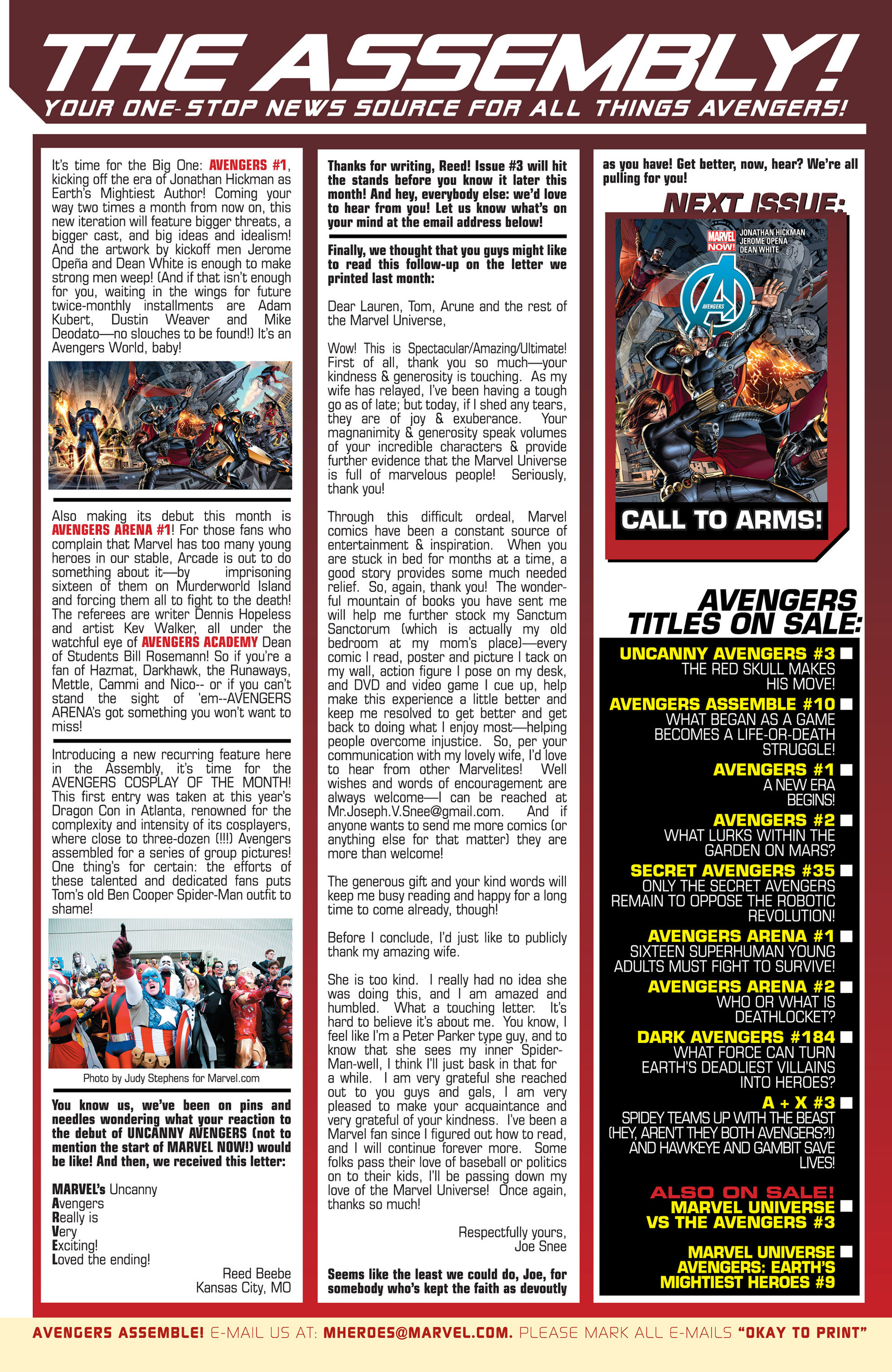 Read online Avengers (2013) comic -  Issue #1 - 26