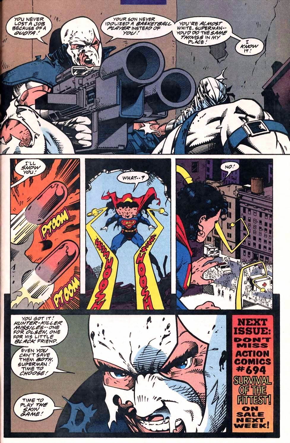 Read online Adventures of Superman (1987) comic -  Issue #507 - 23
