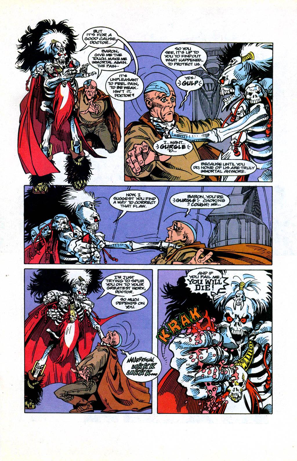 Skeleton Warriors Issue #3 #3 - English 10