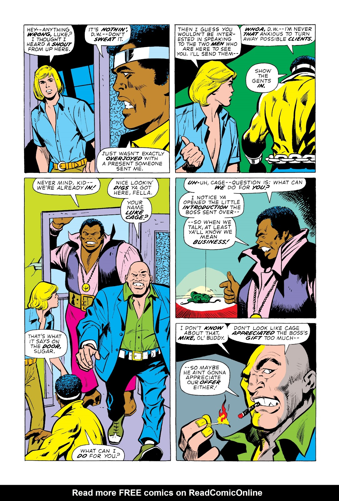 Read online Marvel Masterworks: Luke Cage, Power Man comic -  Issue # TPB 2 (Part 1) - 52