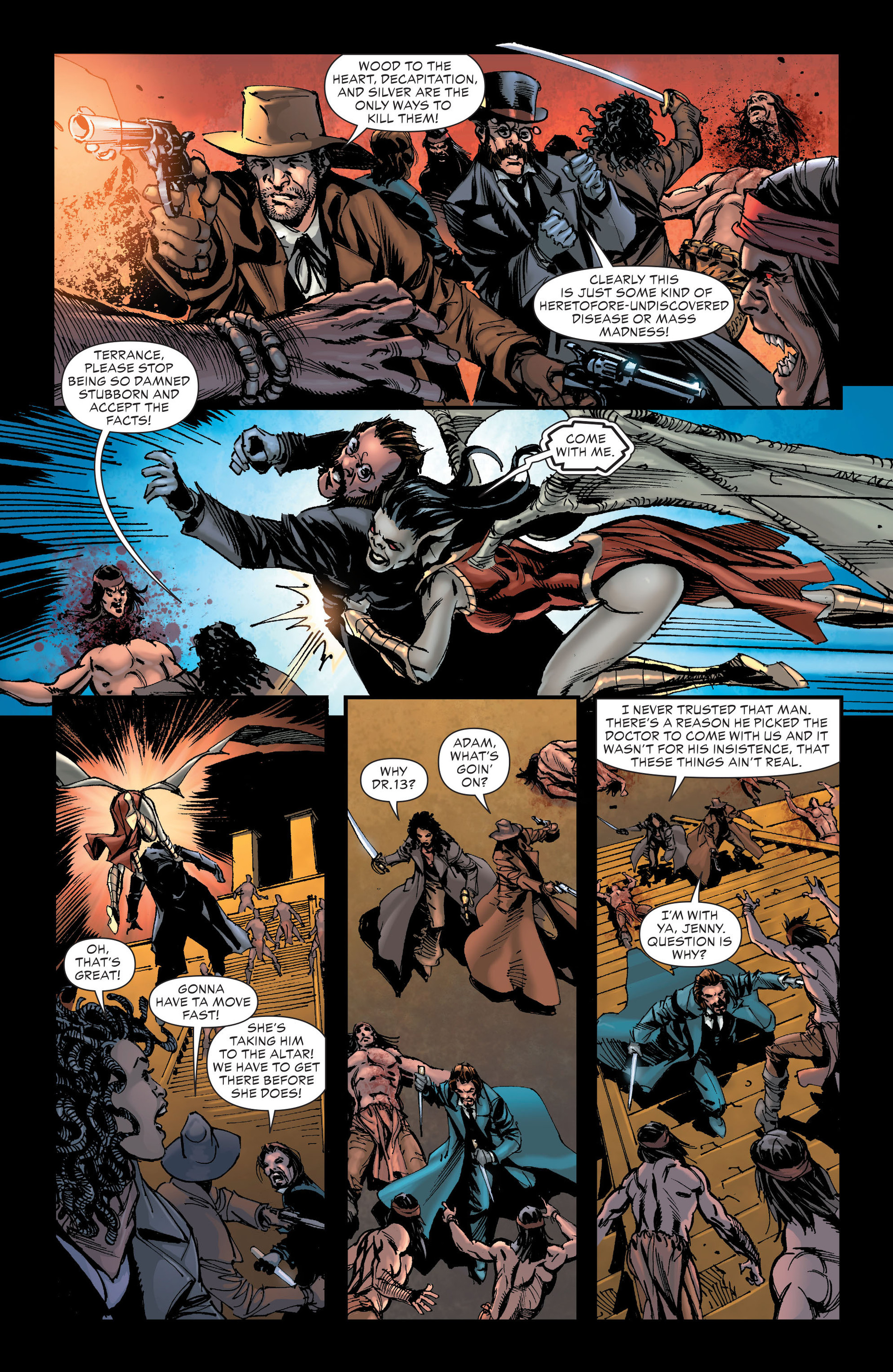 Read online All-Star Western (2011) comic -  Issue #20 - 28