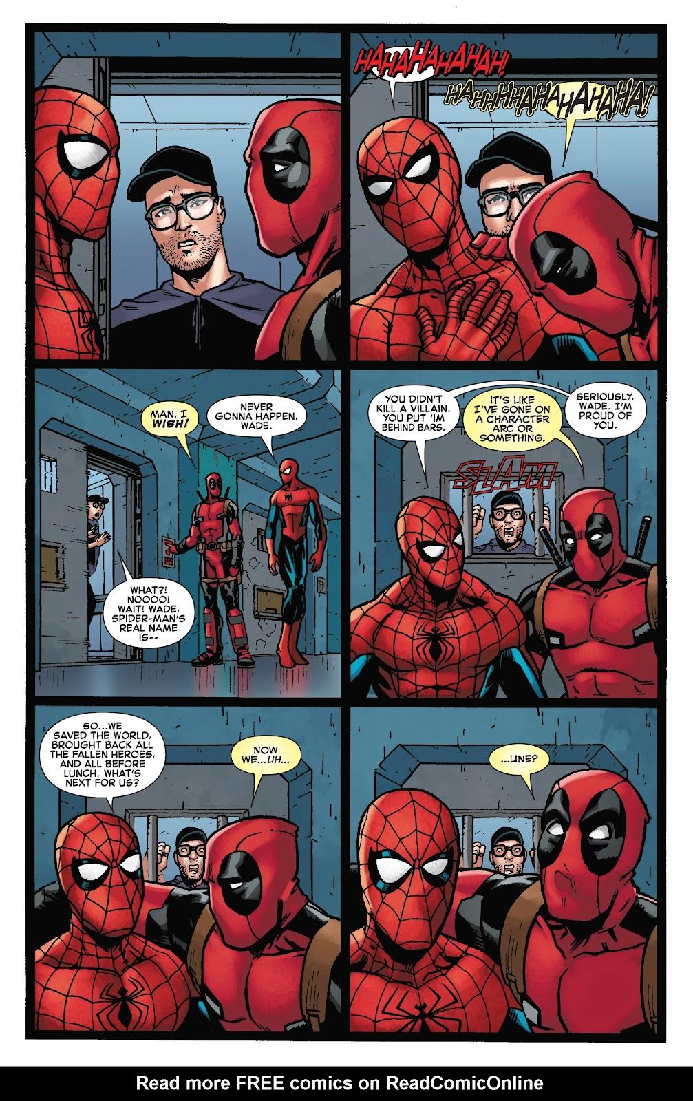 Read online Spider-Man/Deadpool comic -  Issue #50 - 27