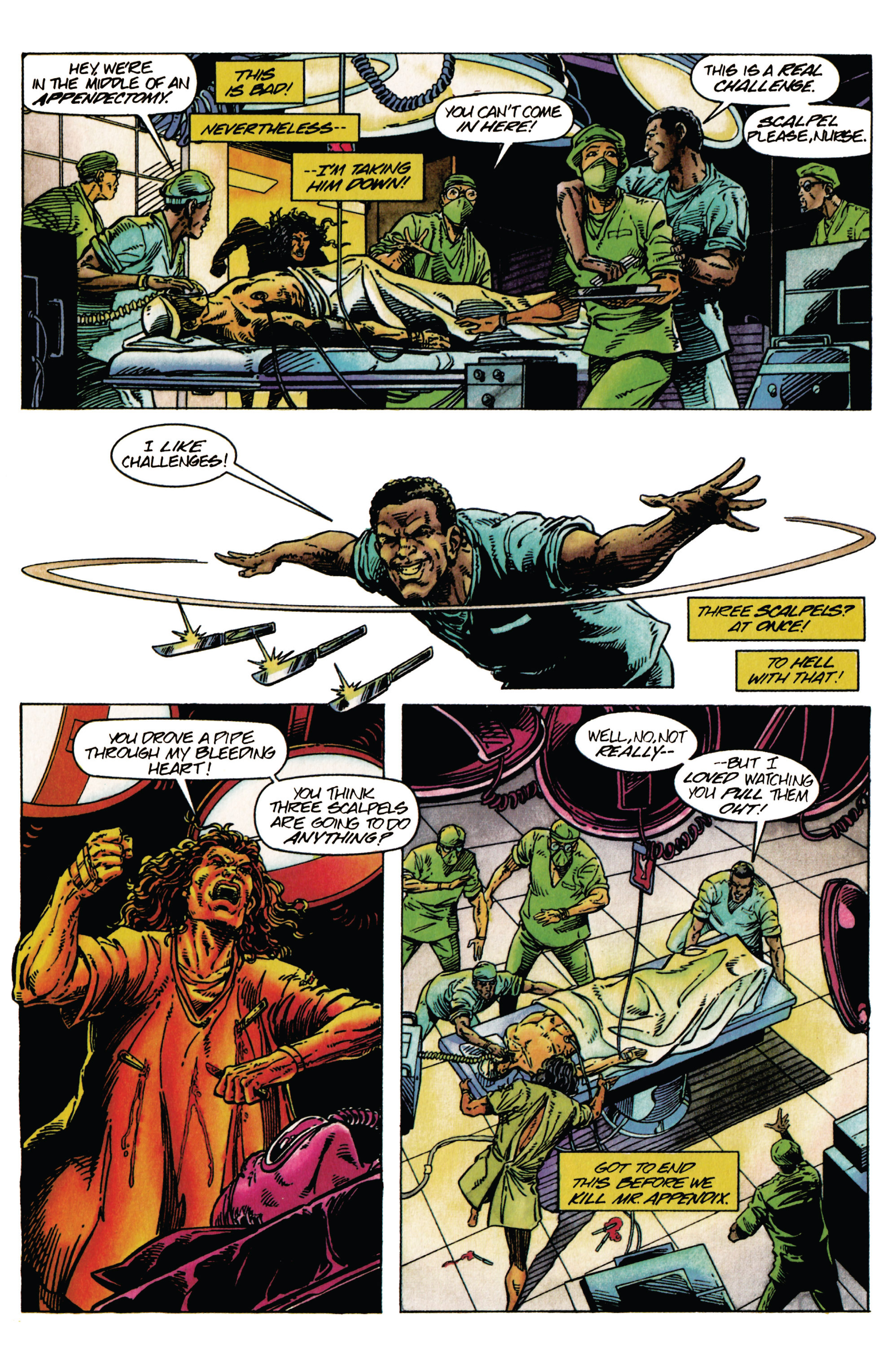 Read online Shadowman (1992) comic -  Issue #27 - 19