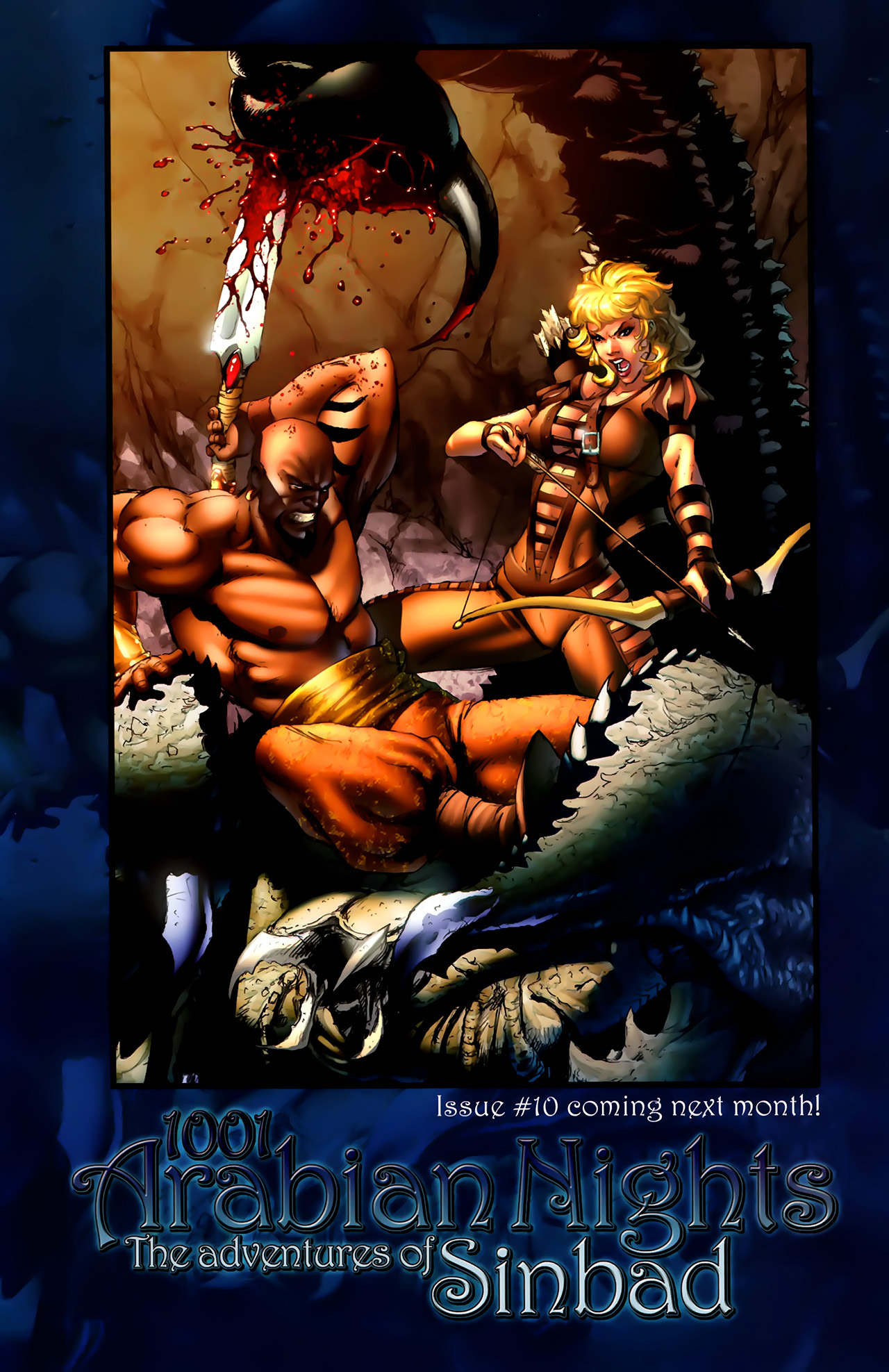Read online 1001 Arabian Nights: The Adventures of Sinbad comic -  Issue #9 - 25