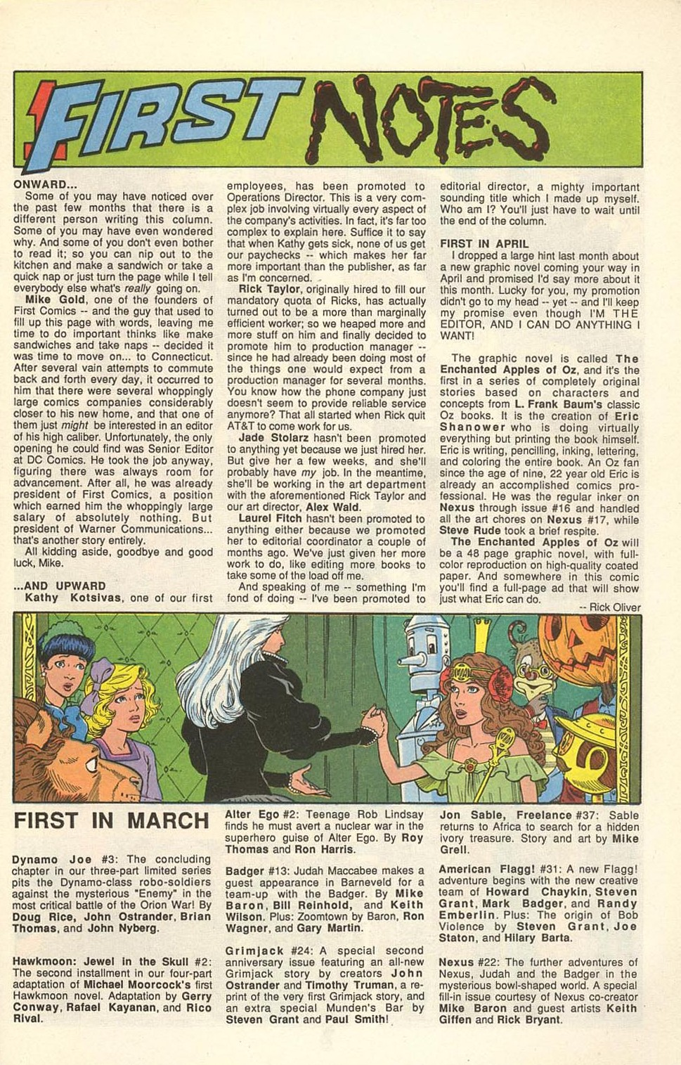 Read online American Flagg! comic -  Issue #31 - 9
