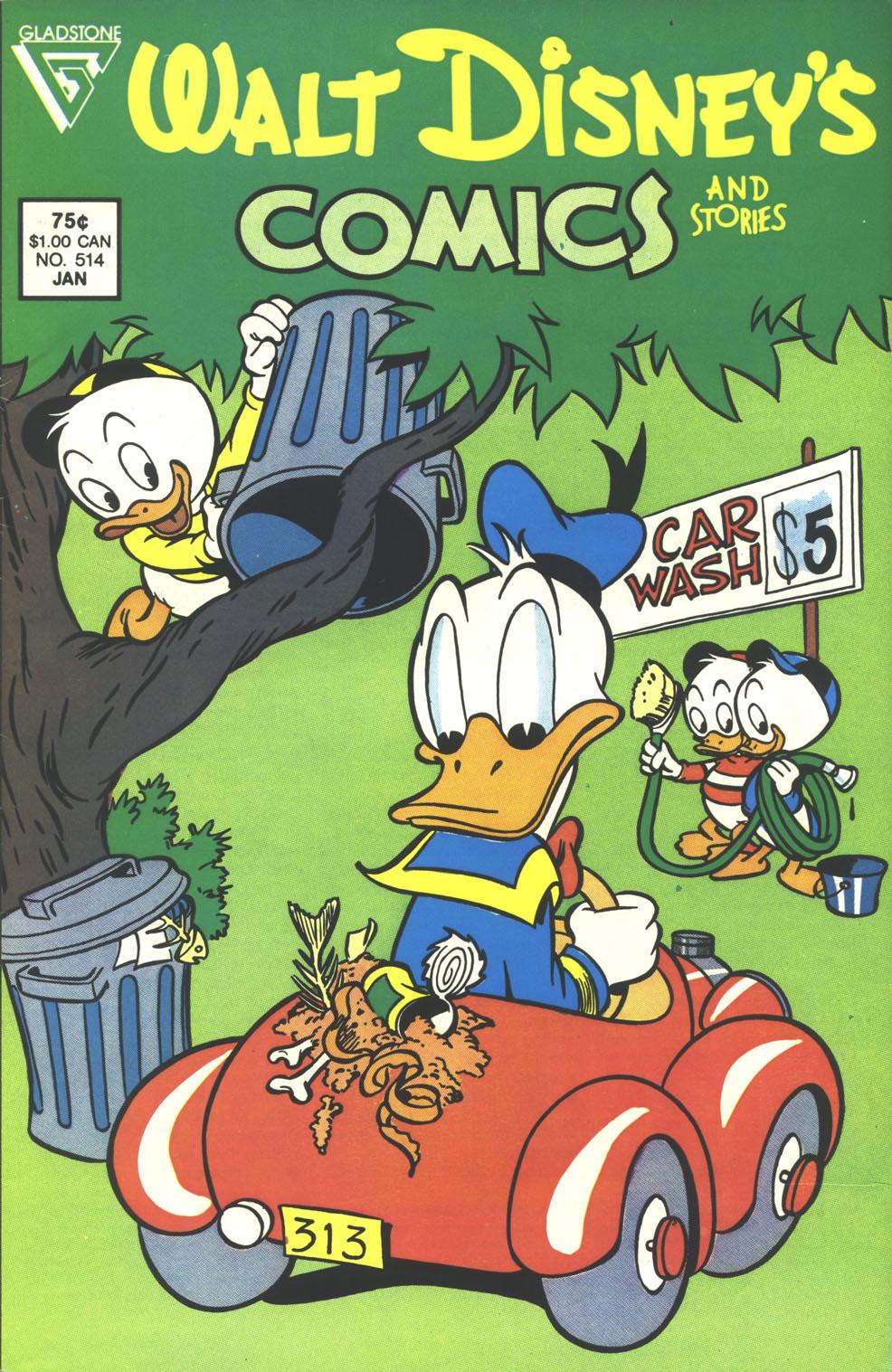 Walt Disneys Comics and Stories 514 Page 1