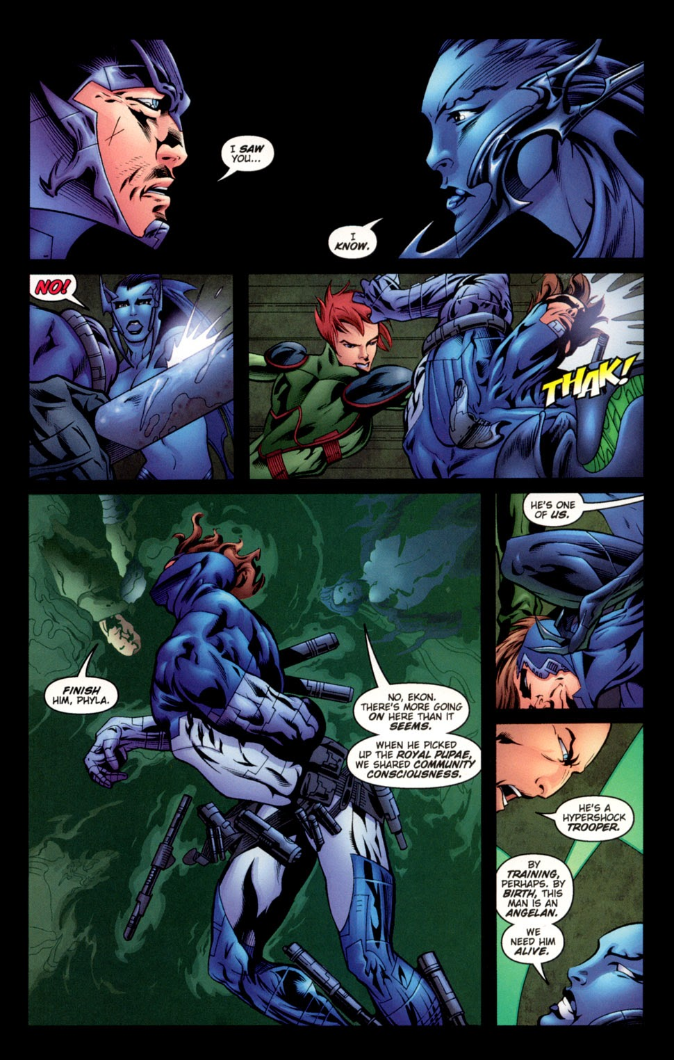 Read online C-23 comic -  Issue #3 - 11